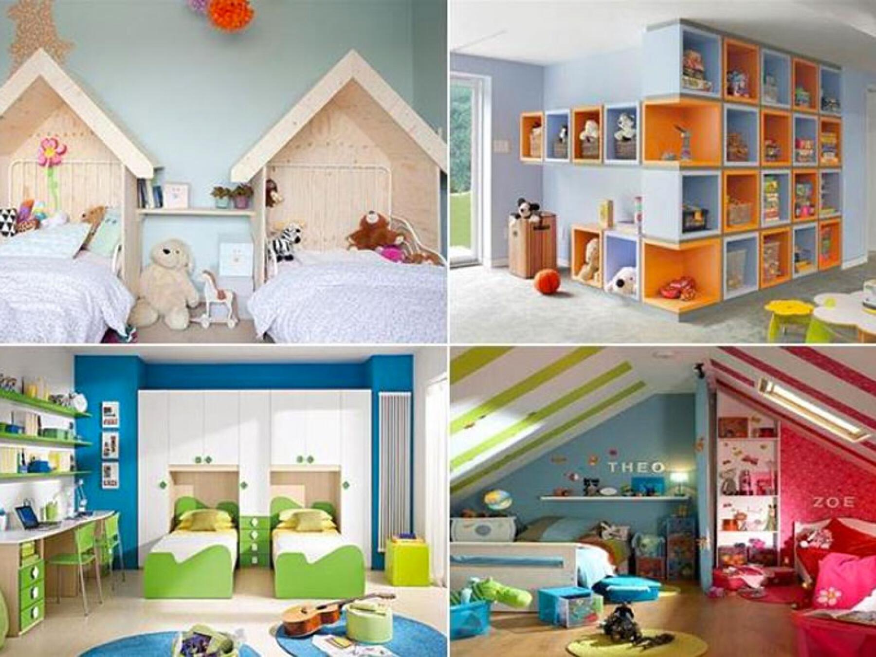 Une chambre, deux enfants, 12 idées