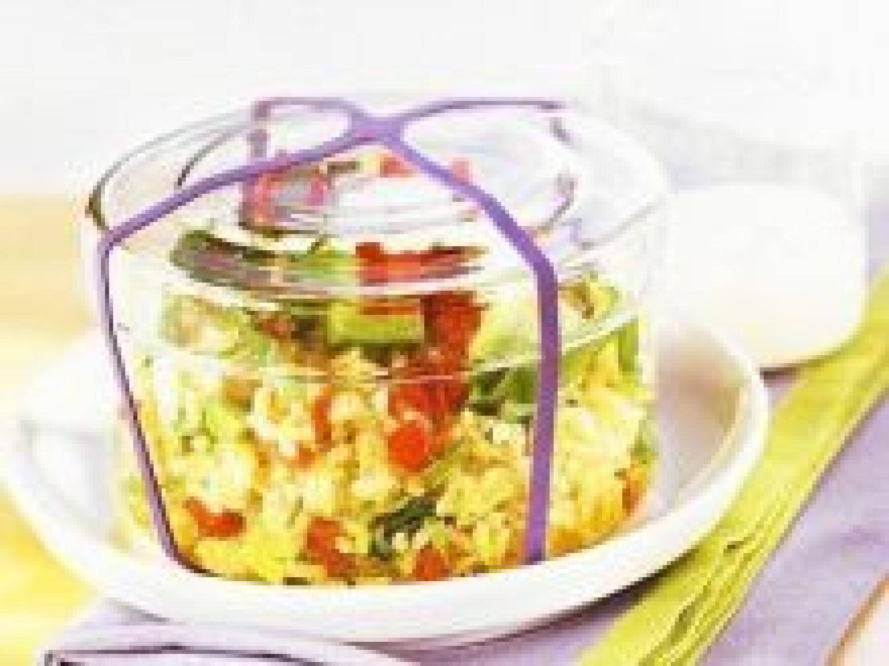 Salade de riz aux avocats