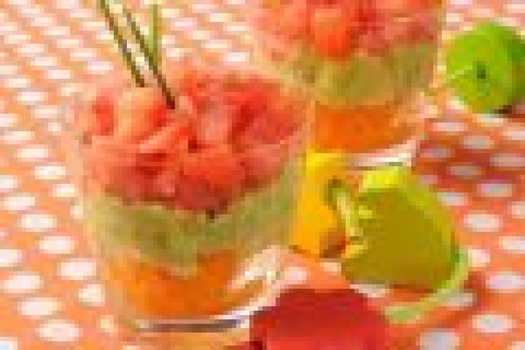 Trifle tricolore