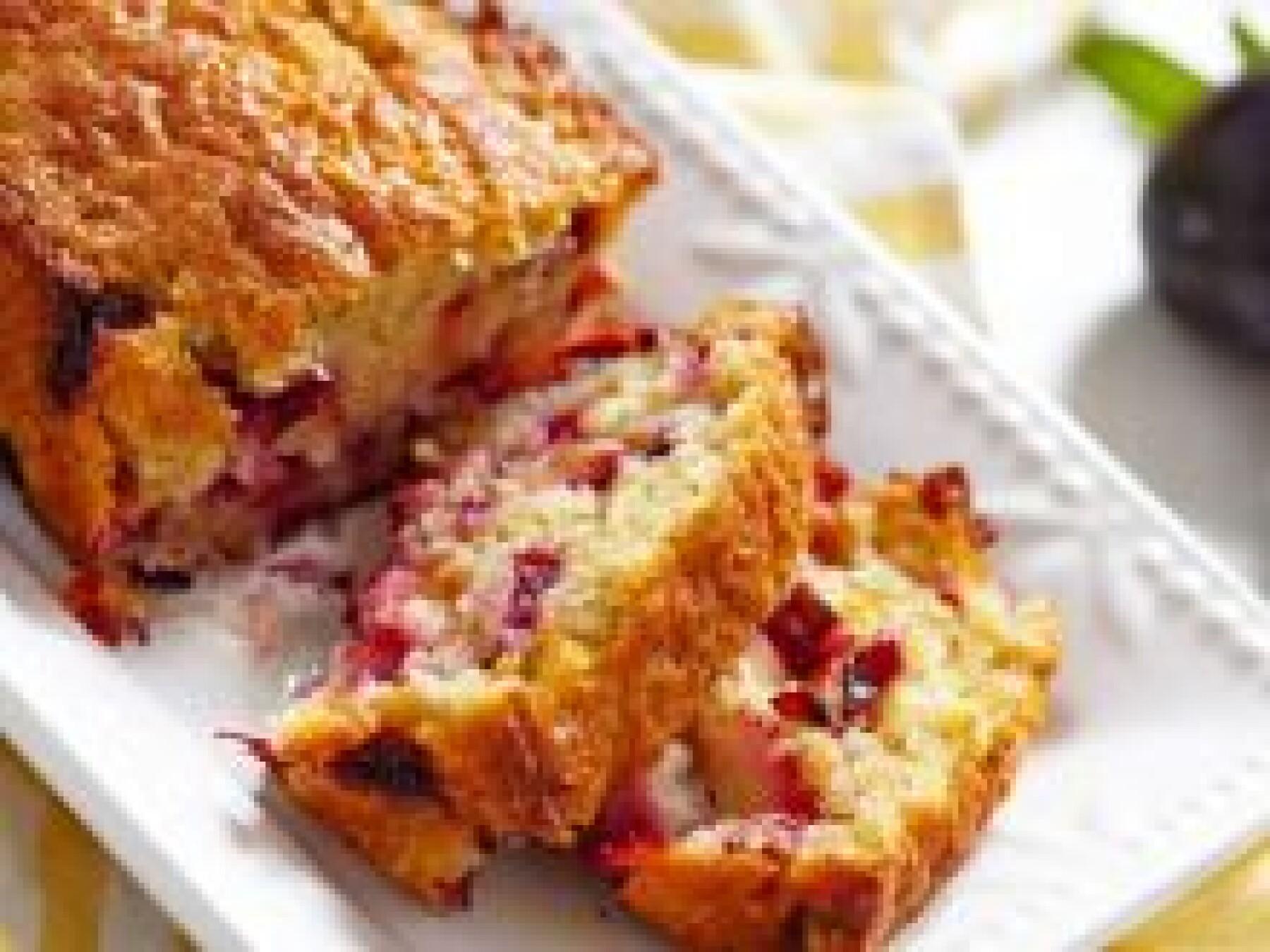 Cake léger aux fruits rouges