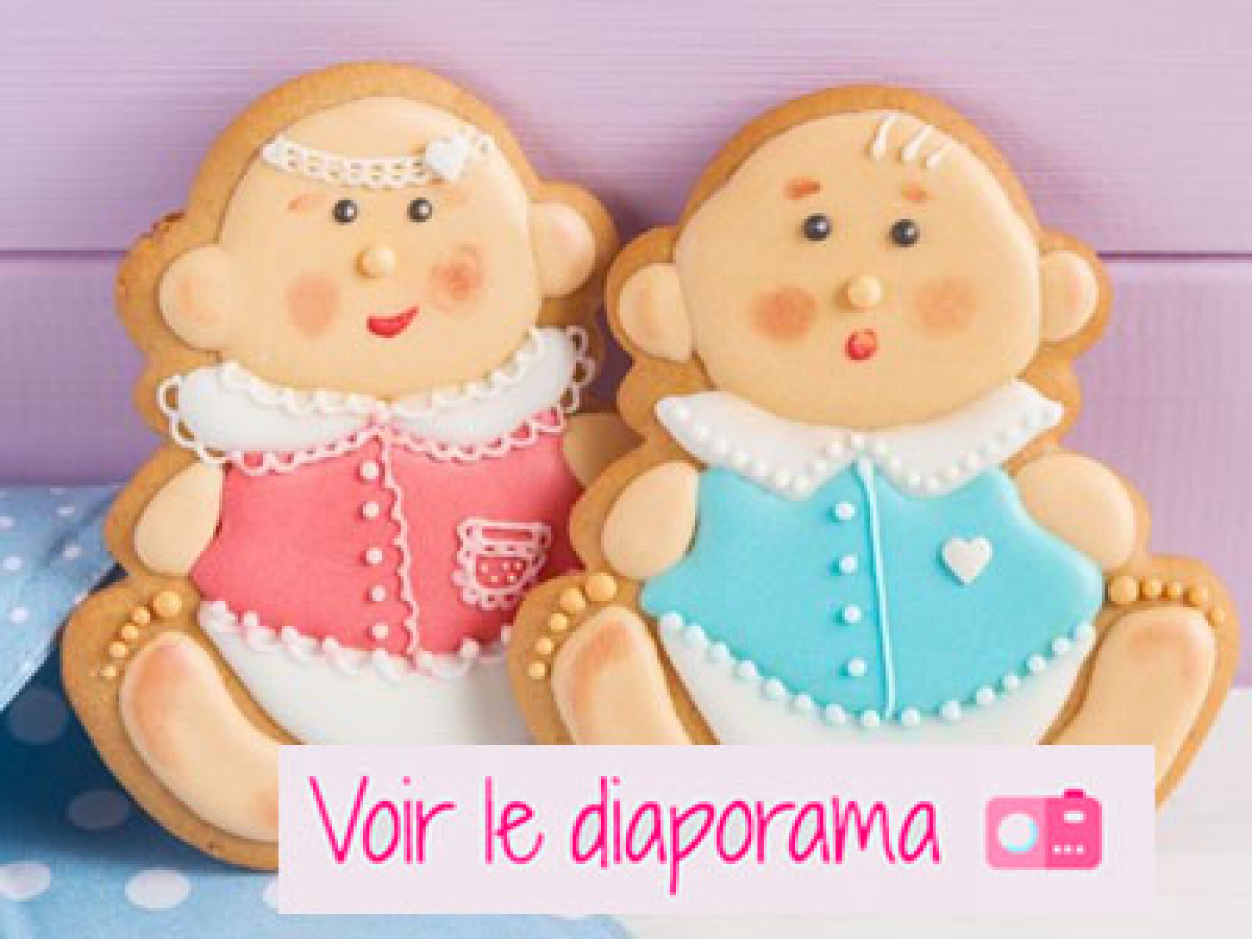 recettes cookies baby shower