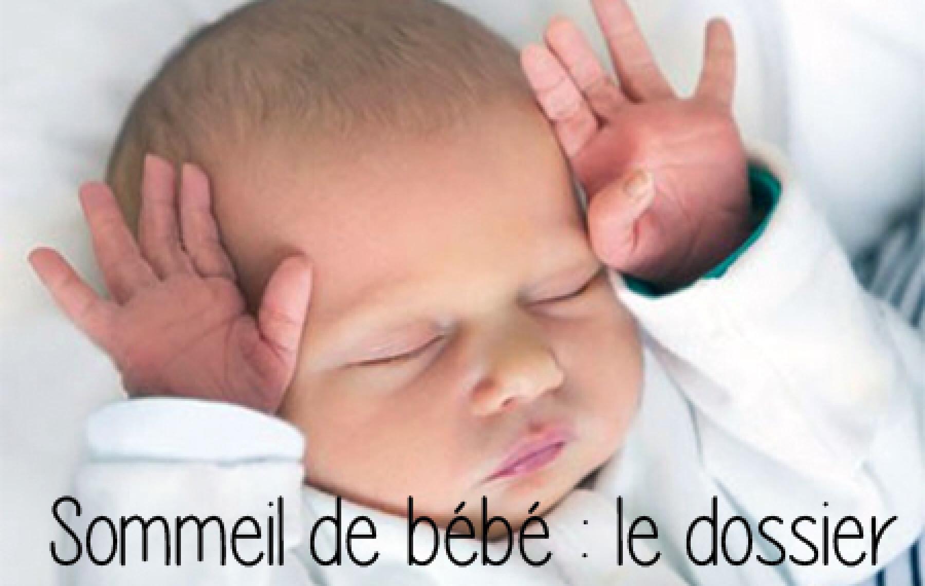 dossier sommeil bébé
