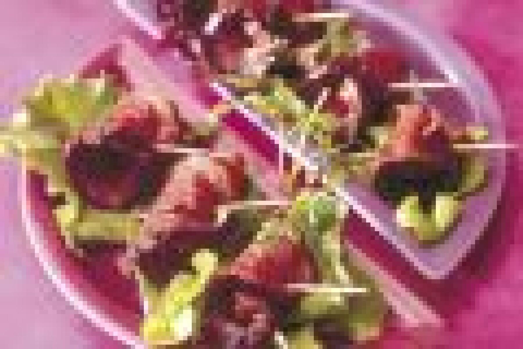 Magrets miel-framboise