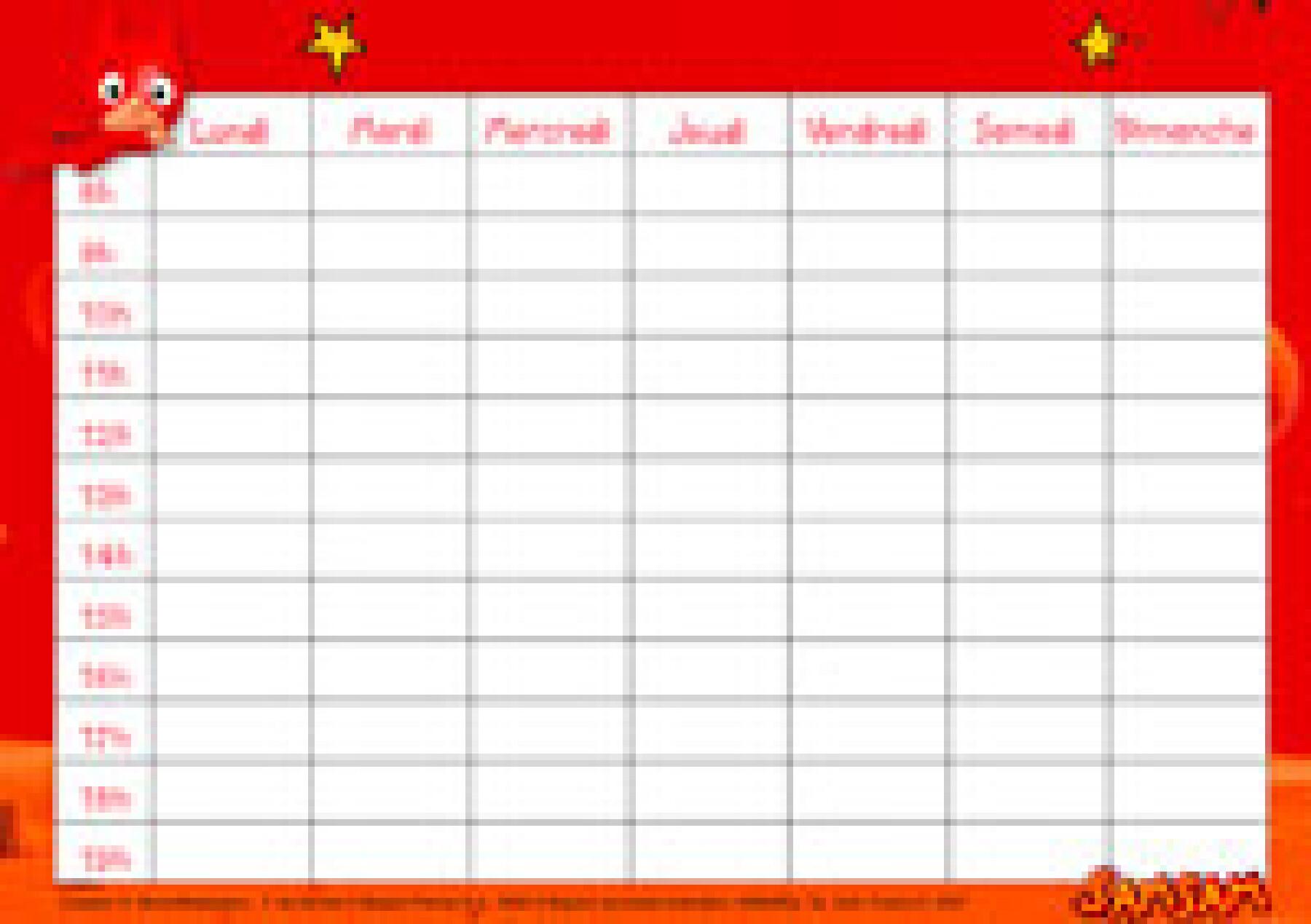 calendrier scolaire sam sam