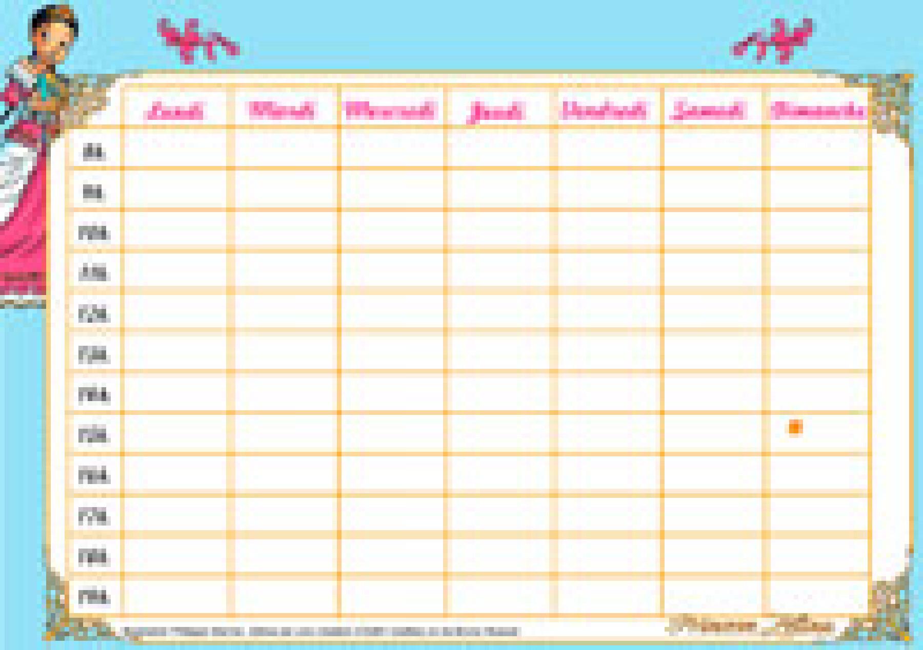 calendrier scolaire zéline