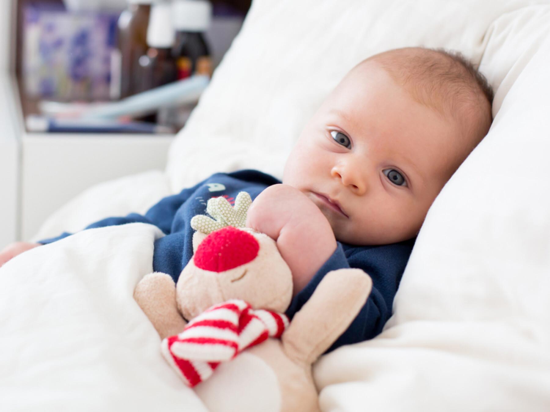 fièvre de bébé en détail