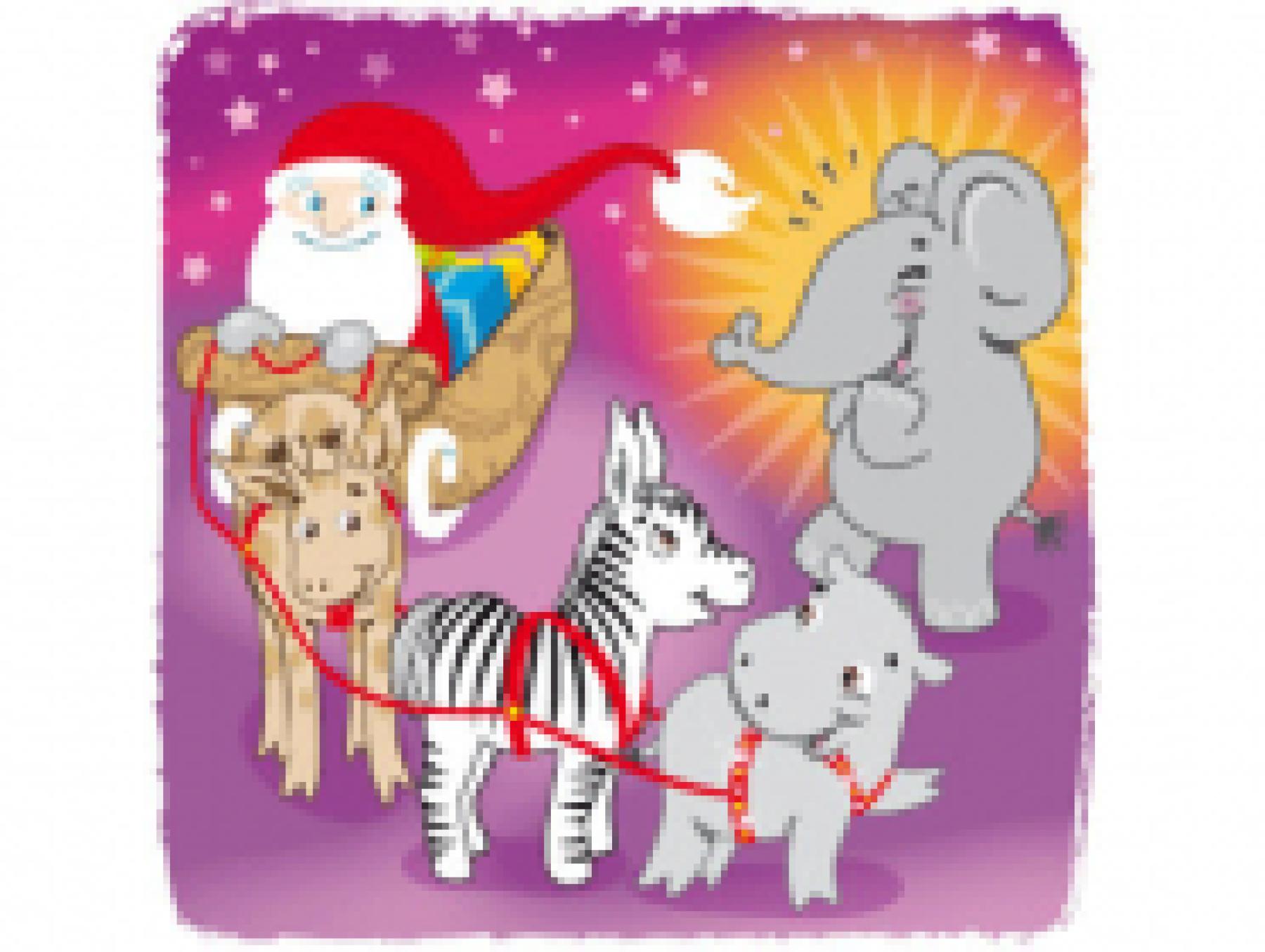 Le Noël d'Enzo l'éléphanteau
