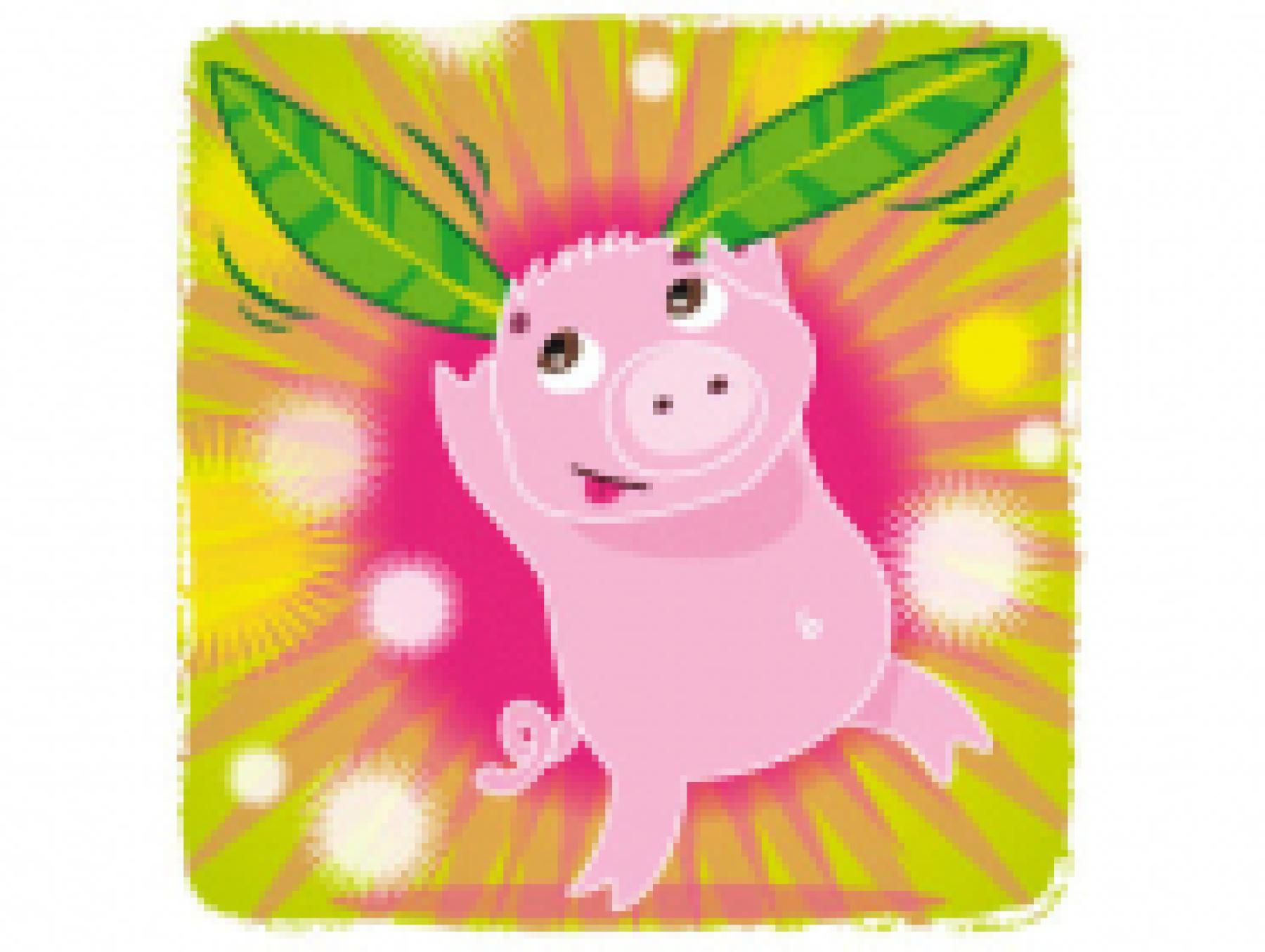 Le Noël de Gédéon le cochon