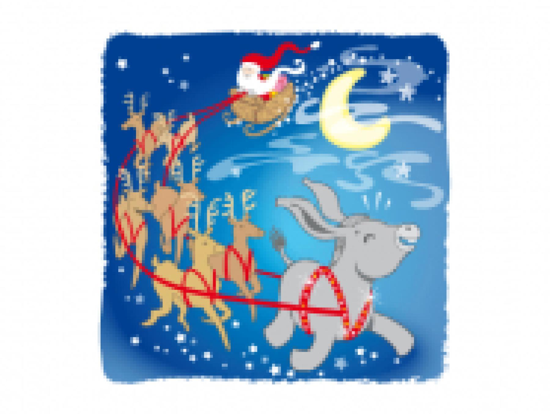 Le Noël d'Odilon l'ânon