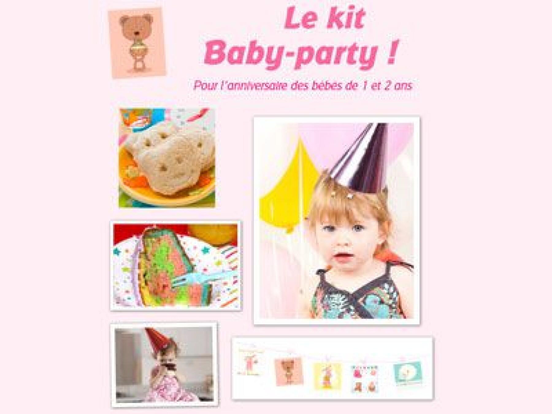 kit anniversaire bébé