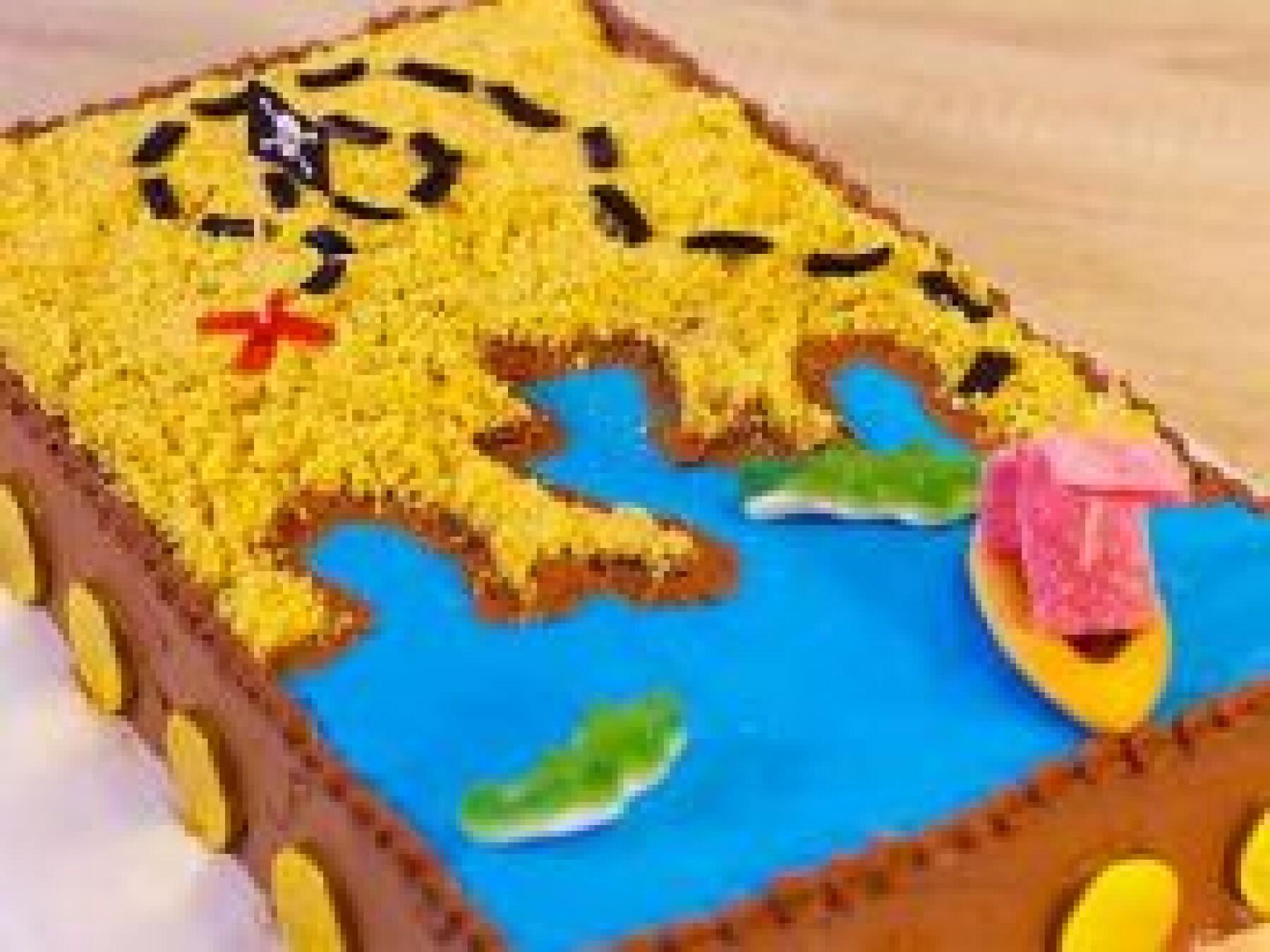 Le gâteau carte au trésor