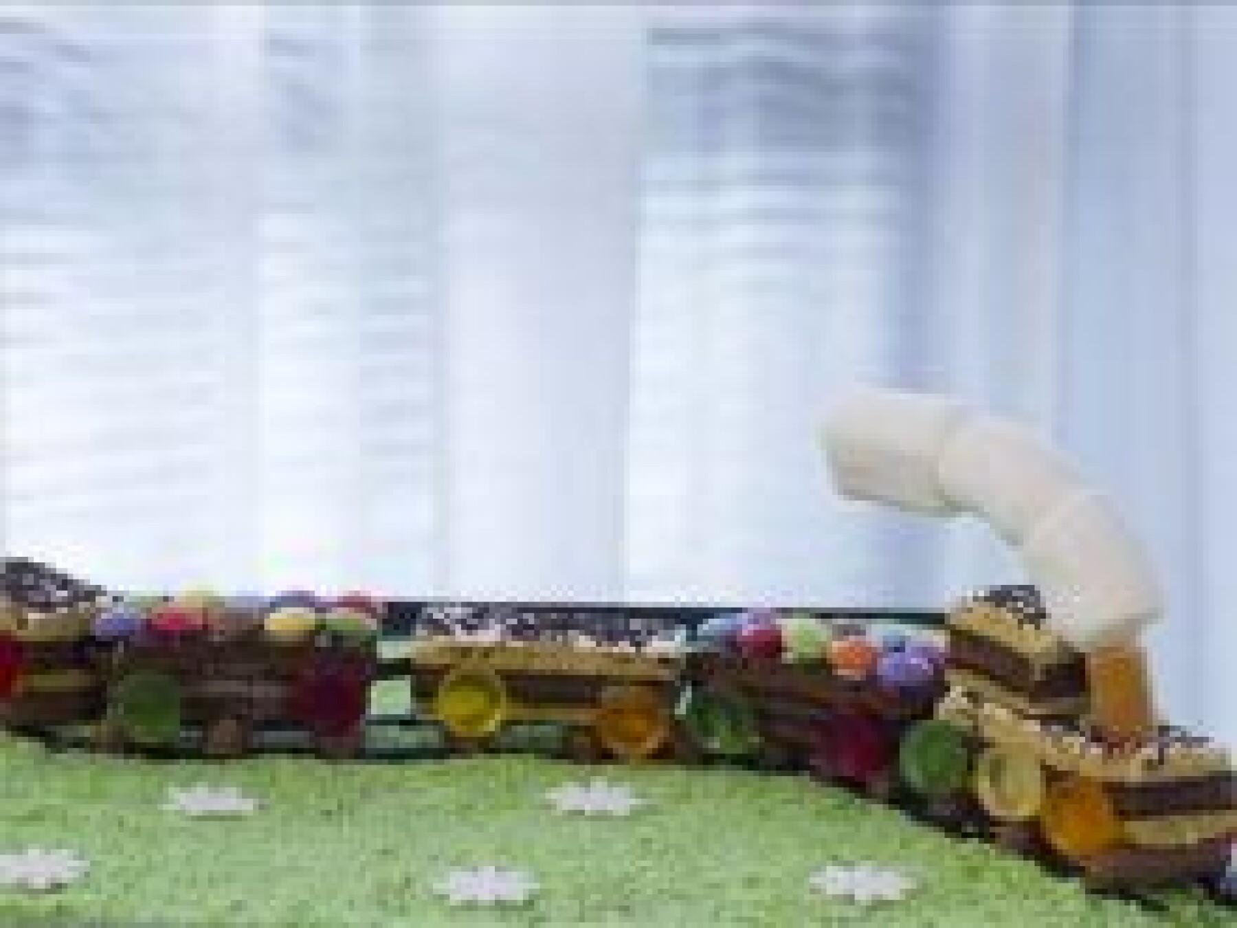 Le gâteau train