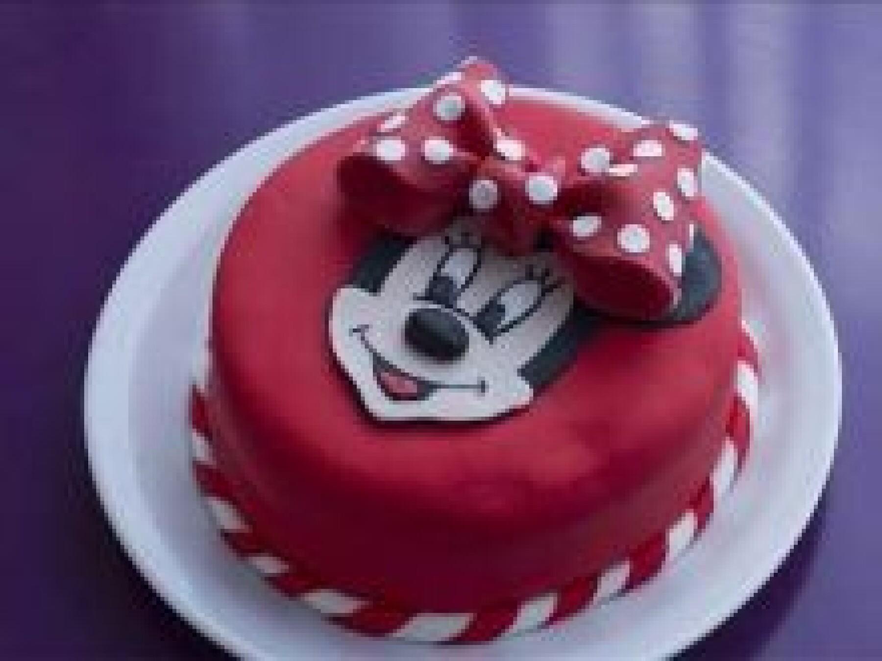Le gâteau Minnie