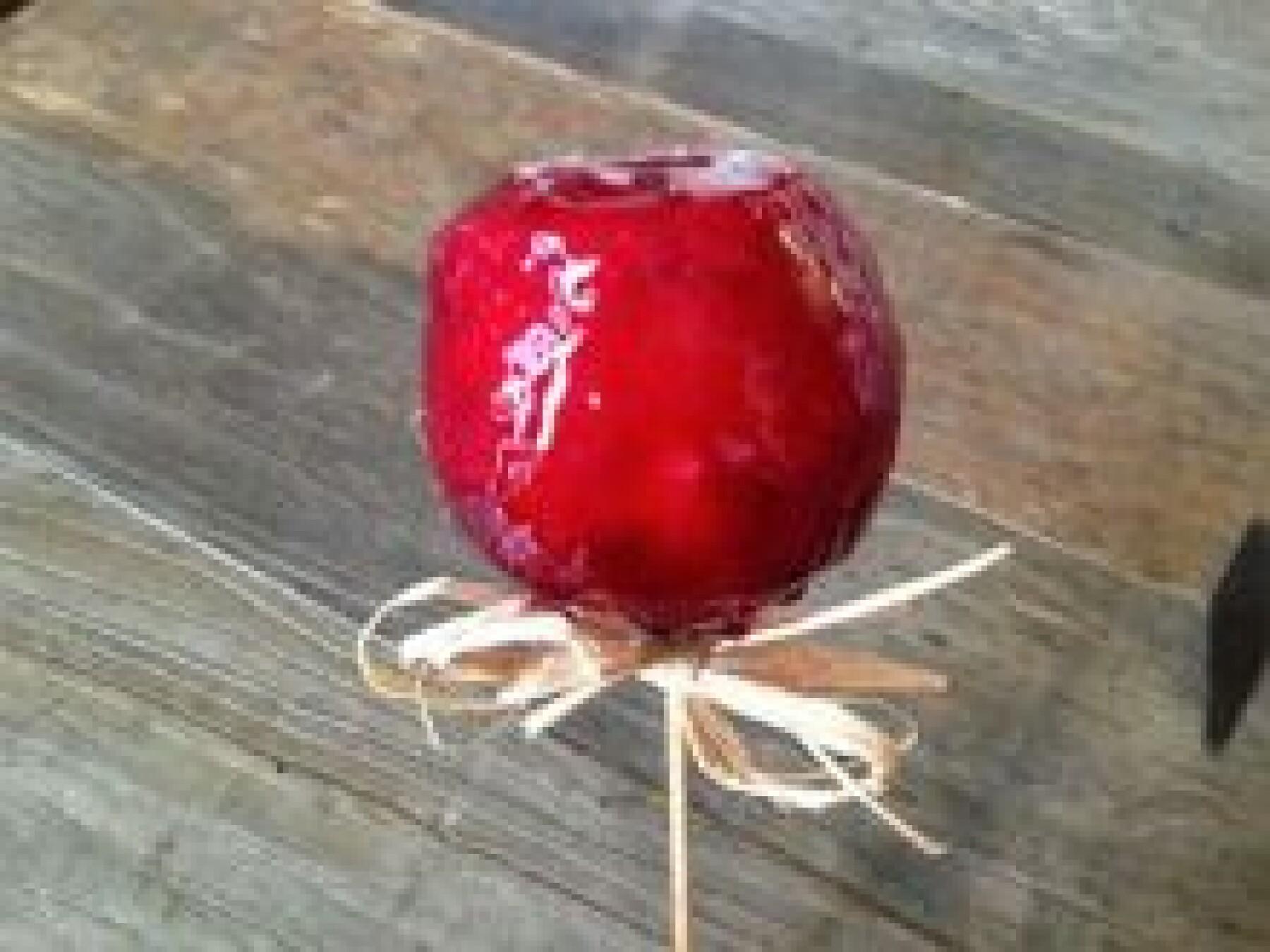 Les pommes d'amour
