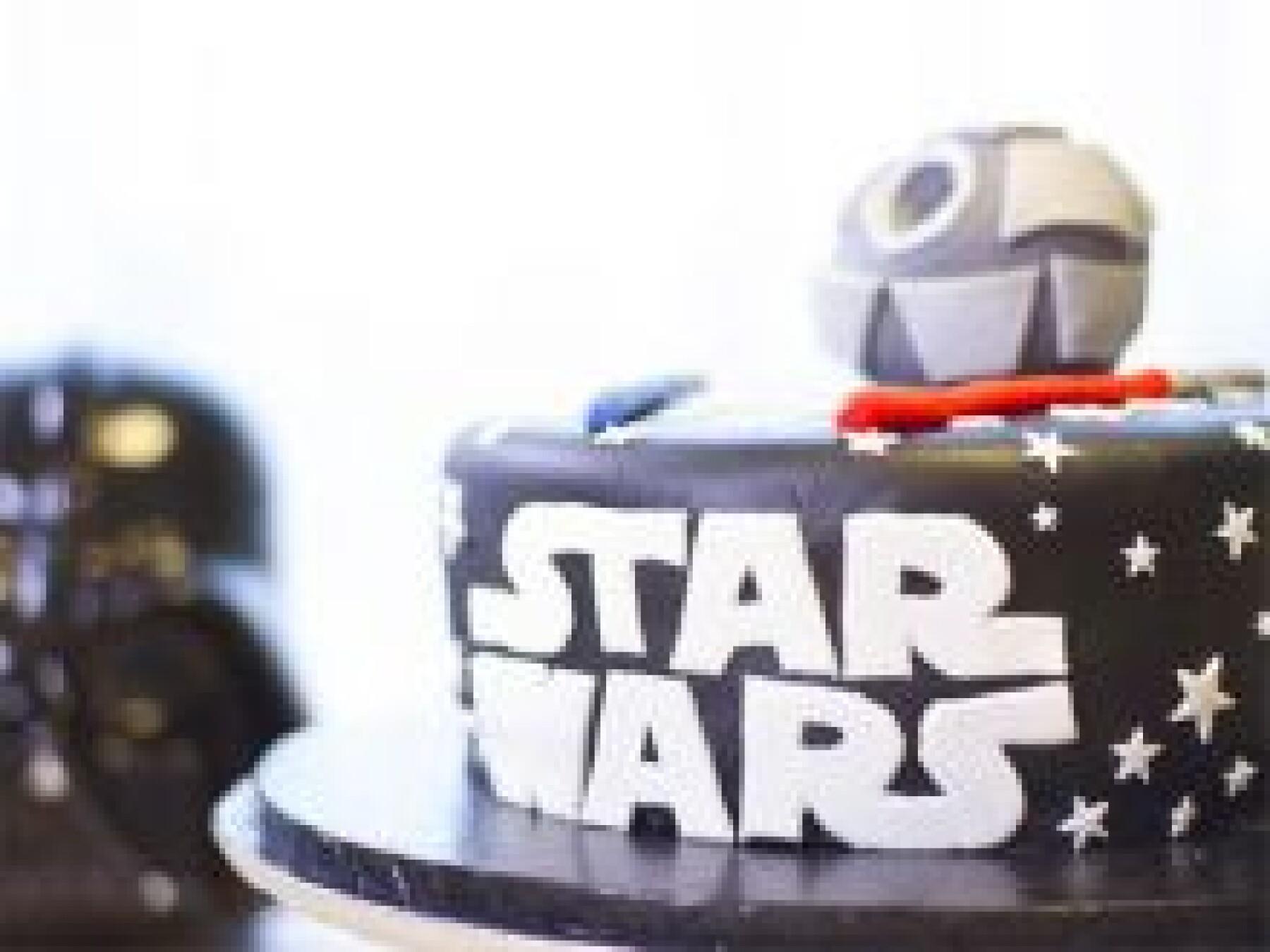 Le gâteau Star Wars