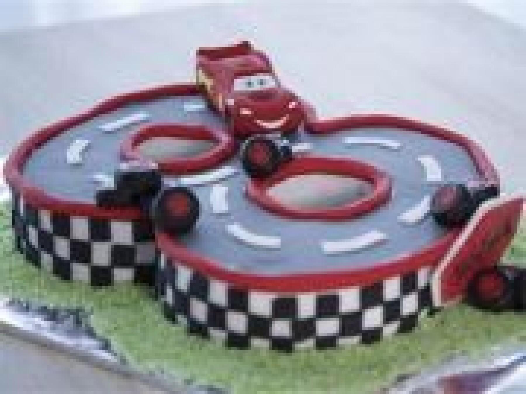 Le gâteau Cars
