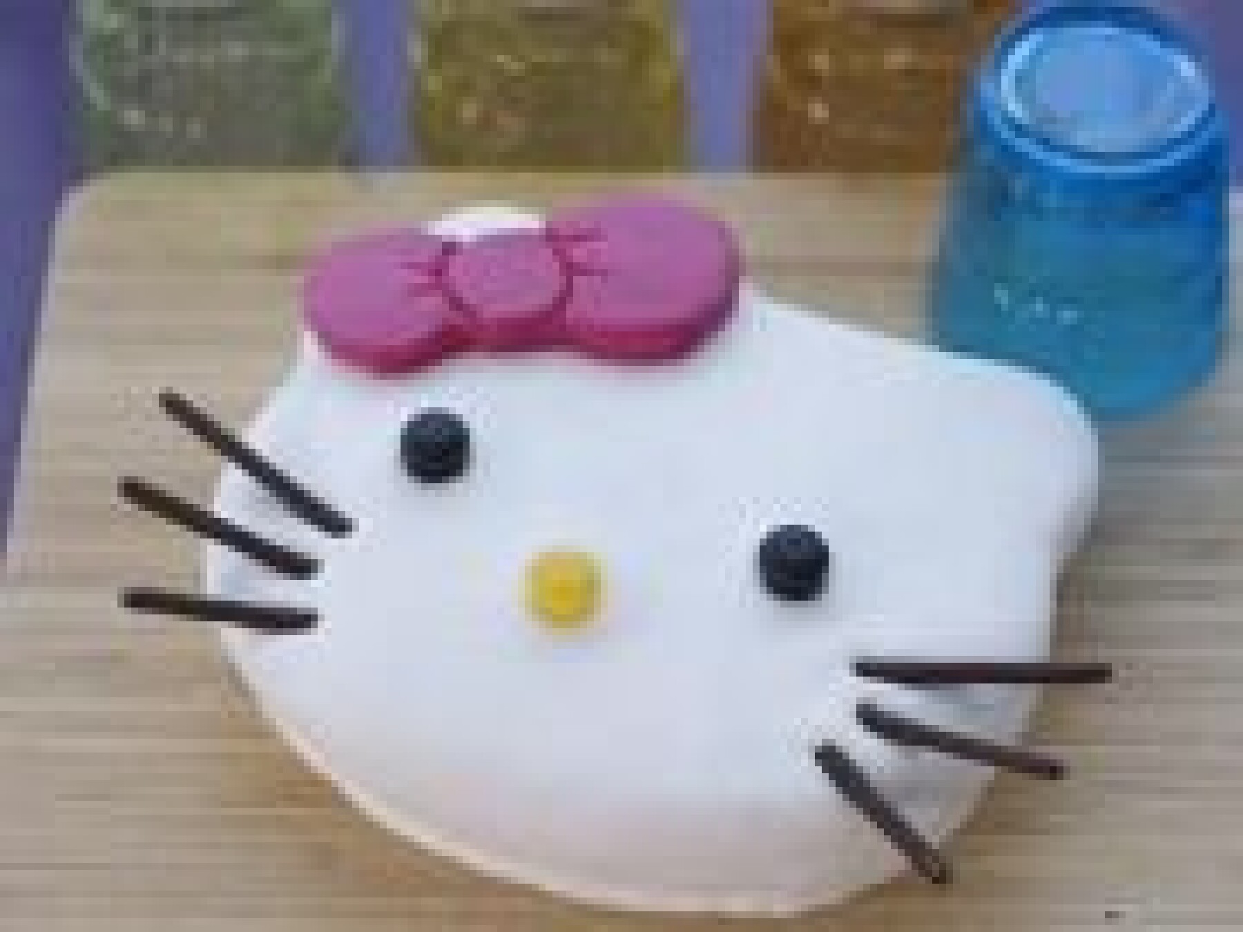 Le gâteau Hello Kitty