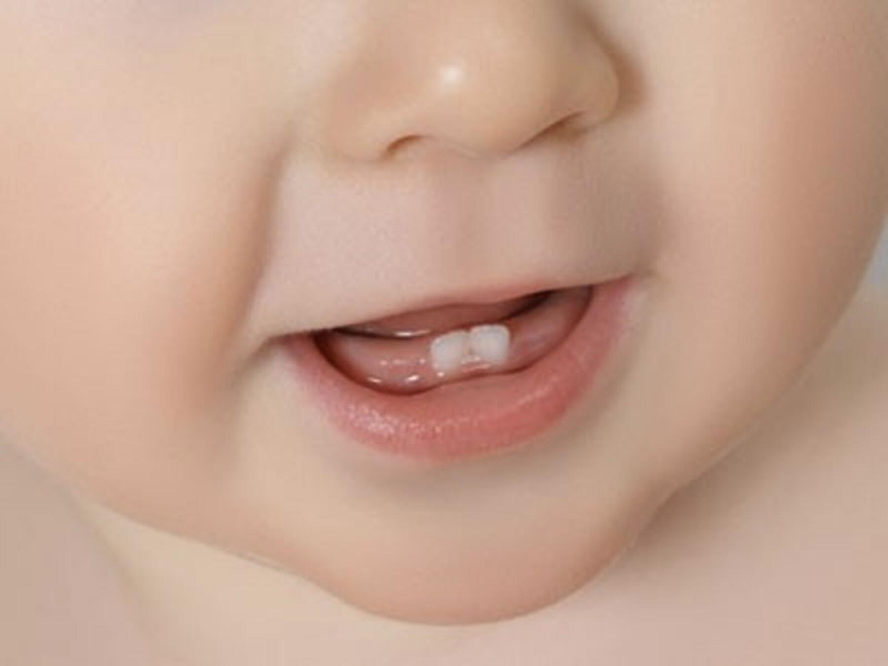 ordre sortie dents bébé
