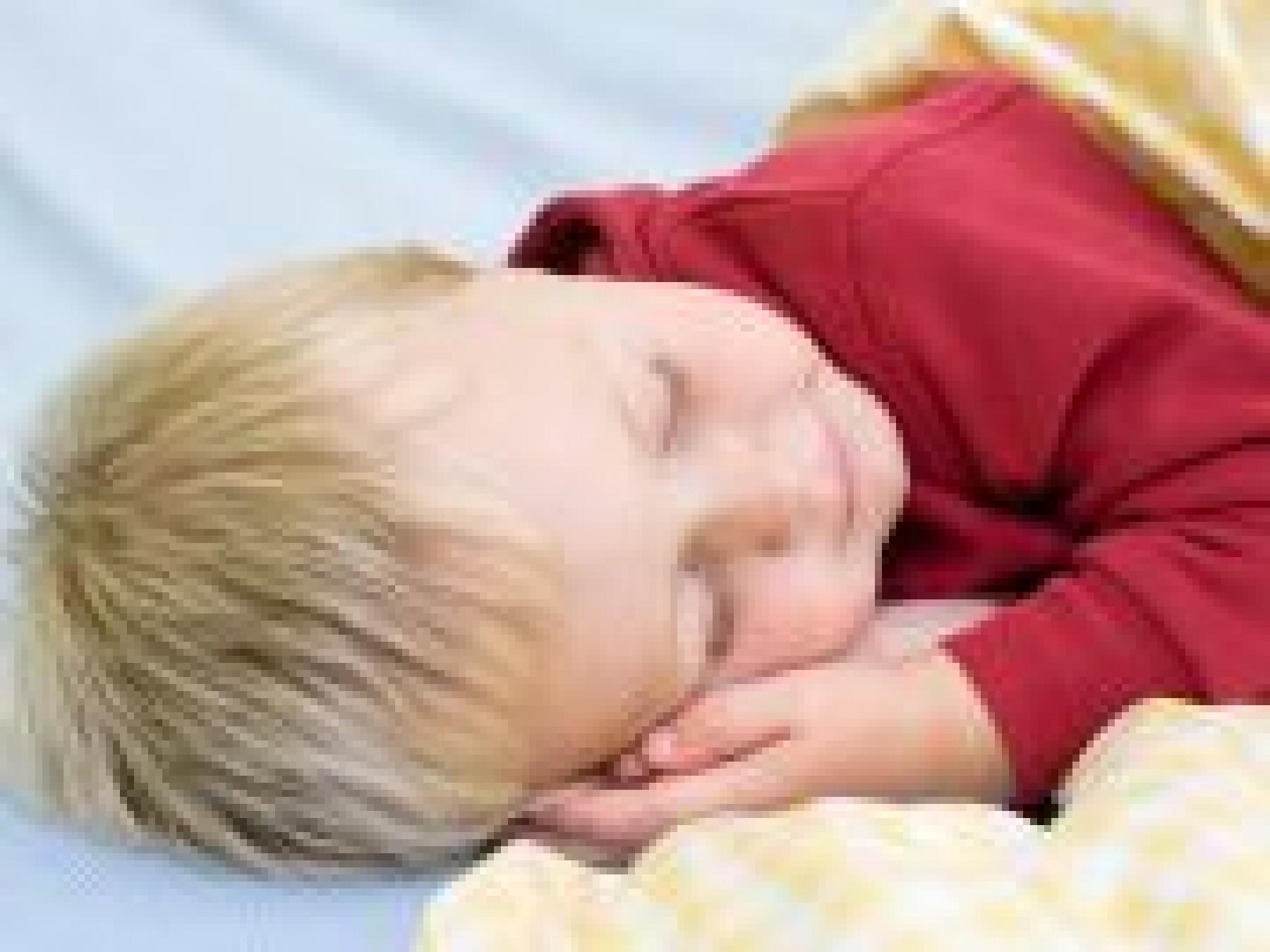 La sieste en maternelle
