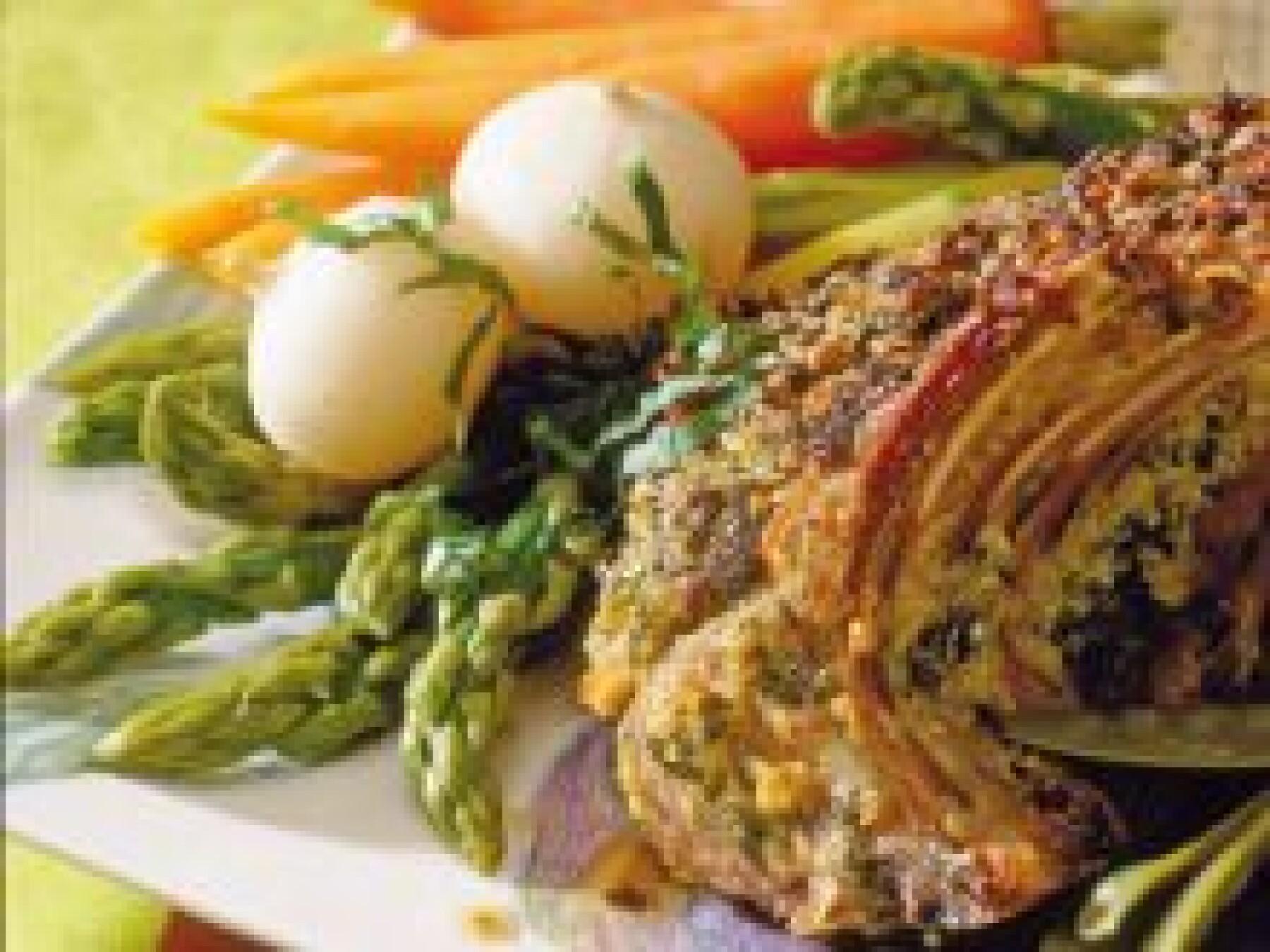 agneau aux légumes