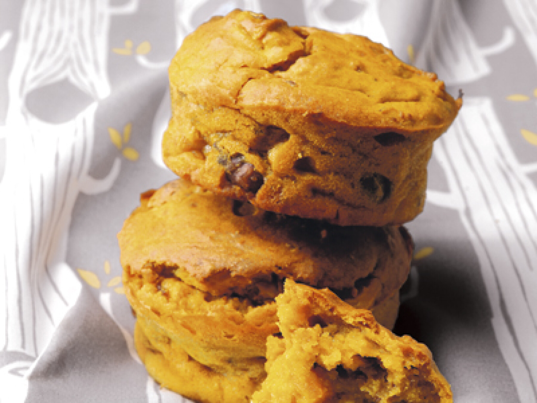 muffin noix potiron