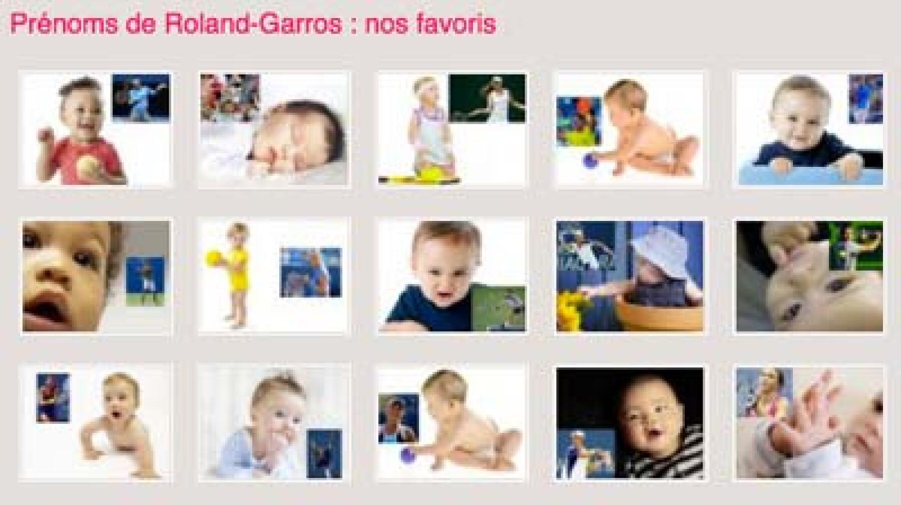 prénoms Roland-Garros