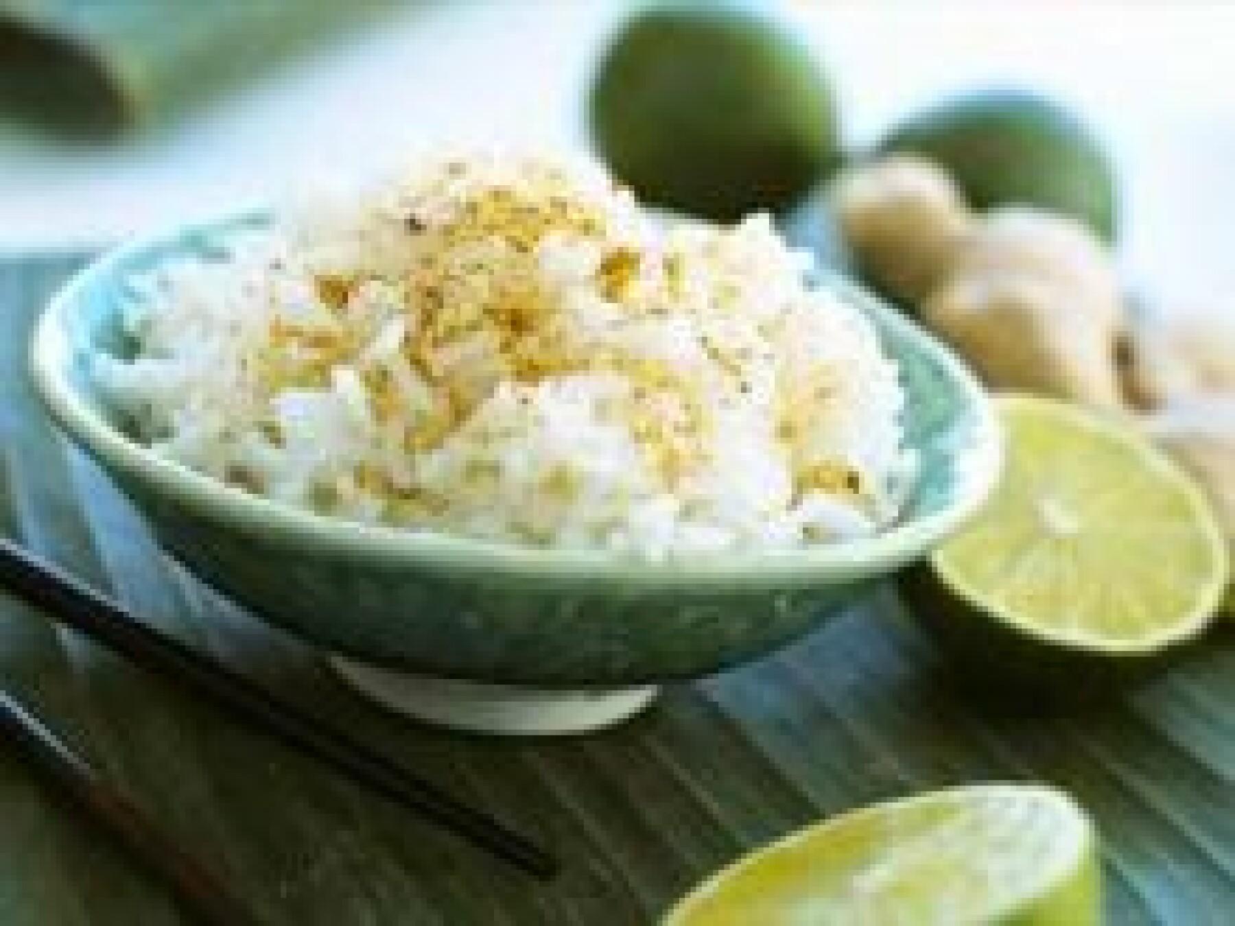 Riz au gingembre