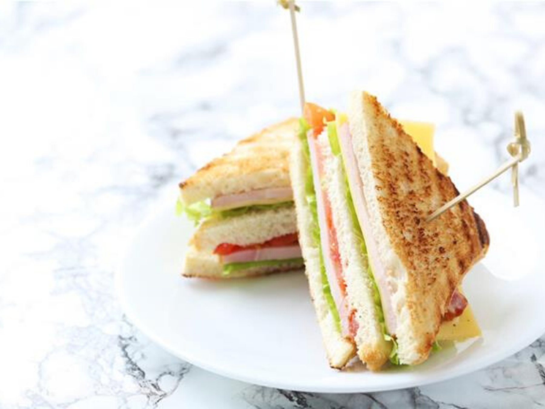 Iceberg club sandwich