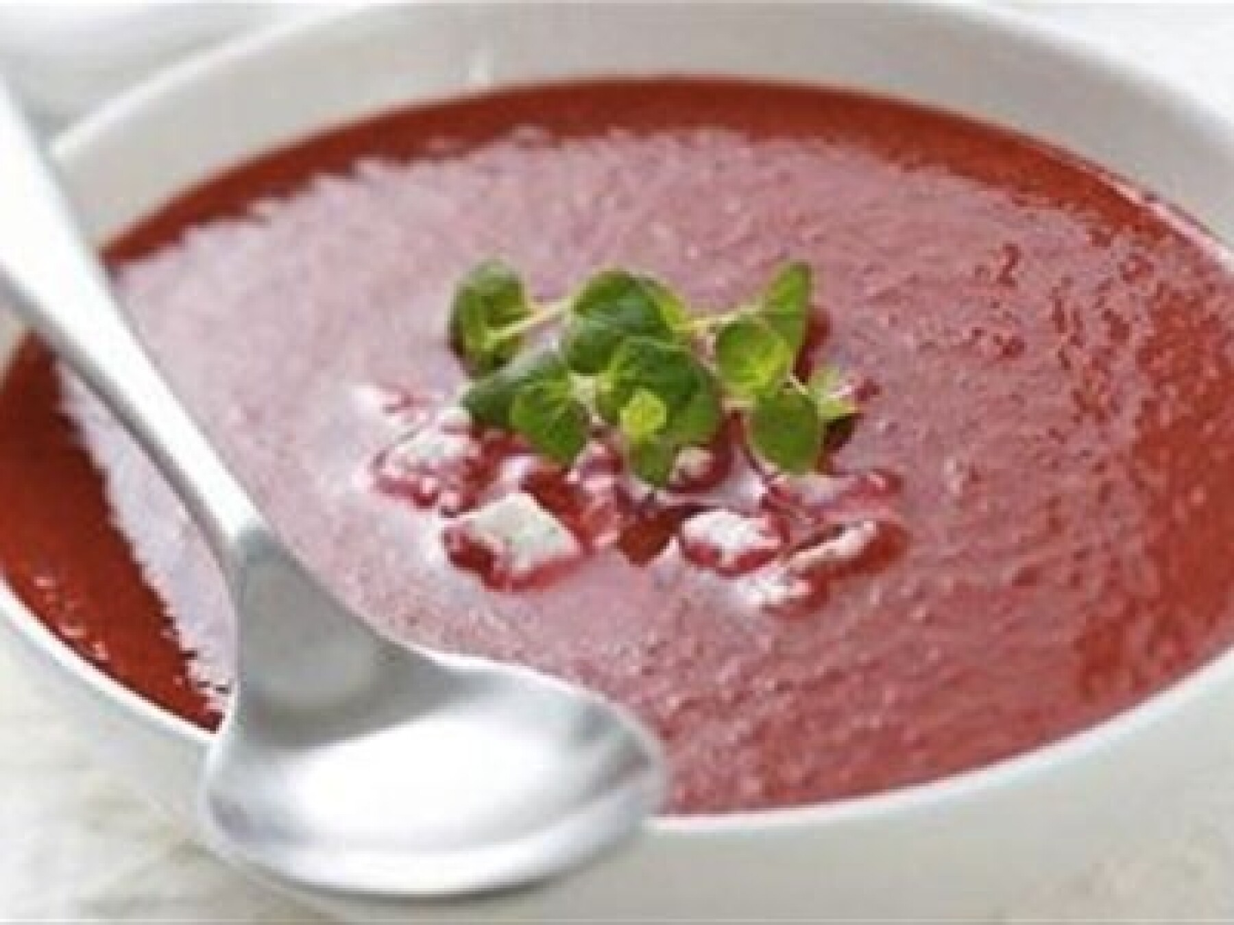 Soupe betteraves-tomates