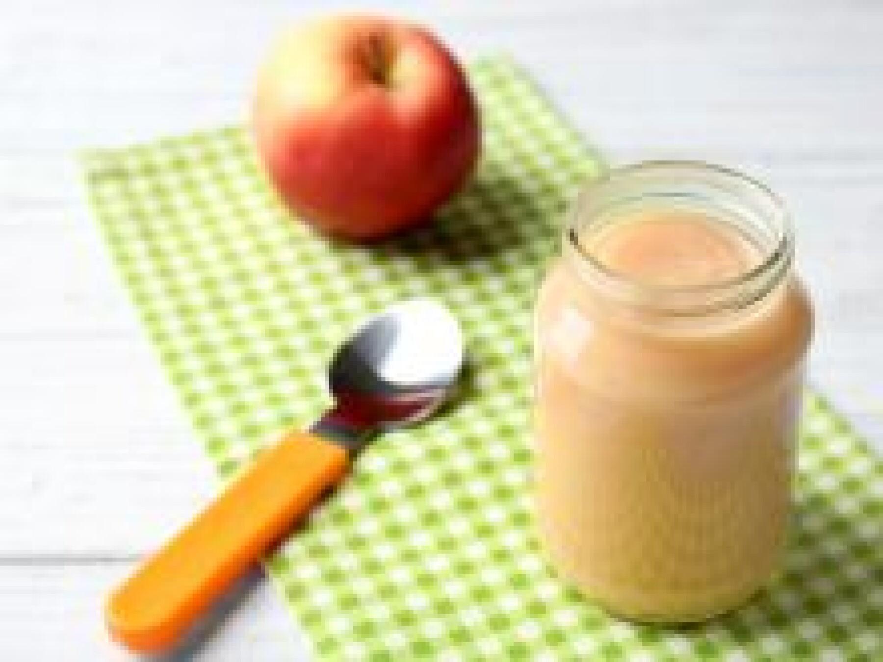 compote pomme mandarine bébé