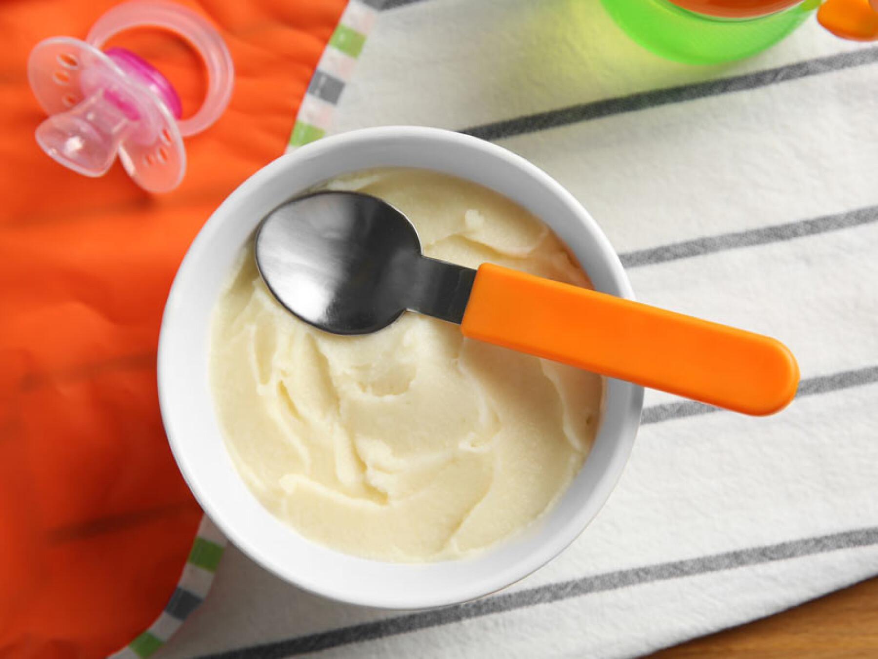 Purée de patates douces au lait