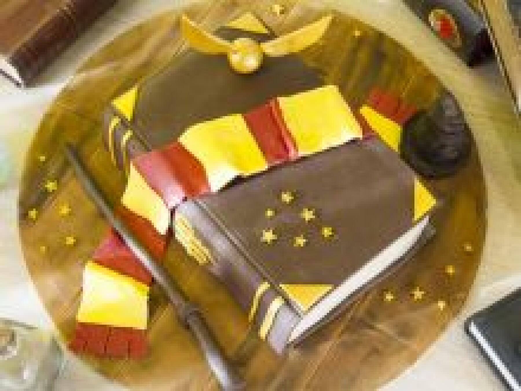 Le gâteau Harry Potter
