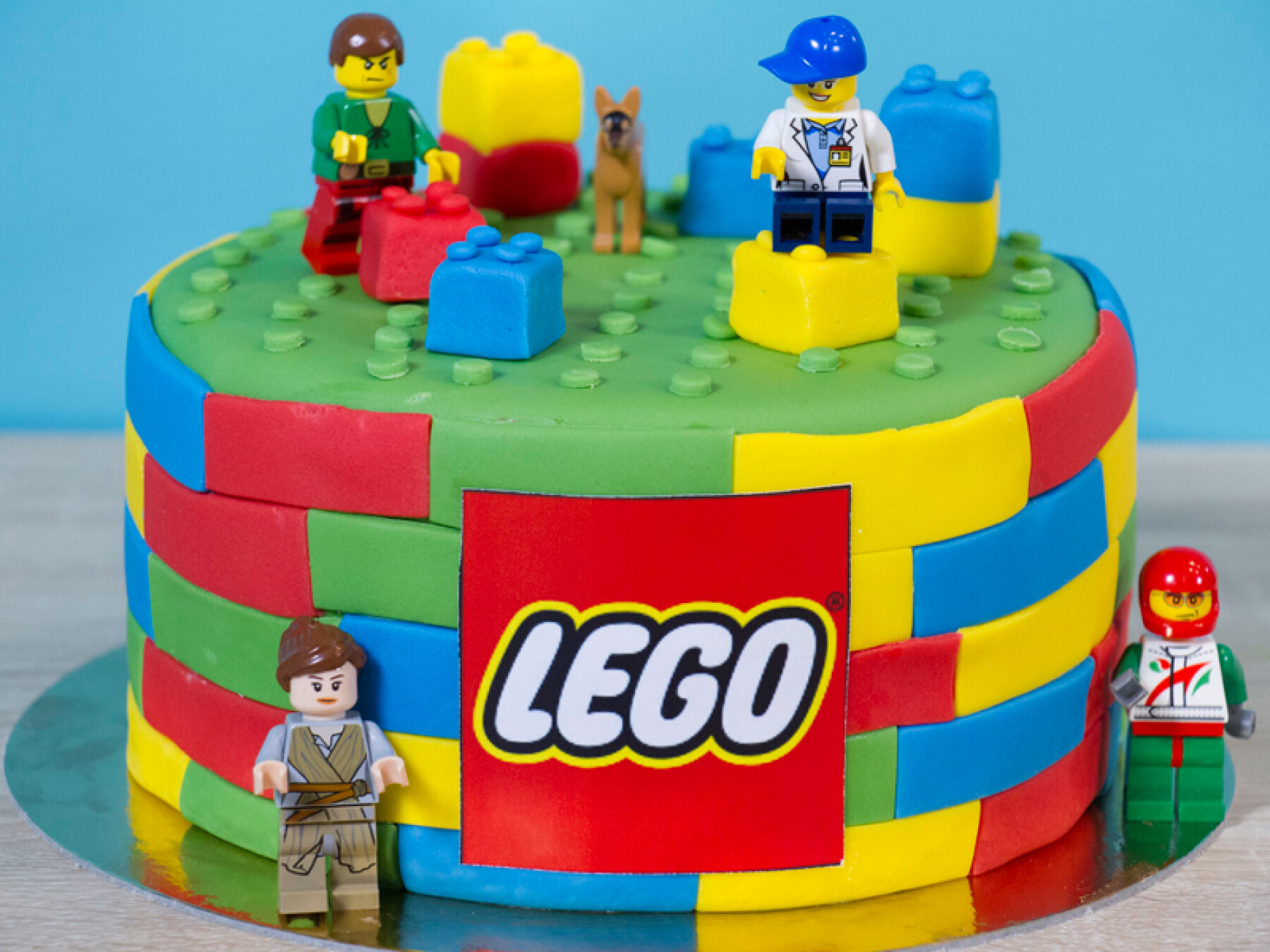 Le beau gâteau Lego