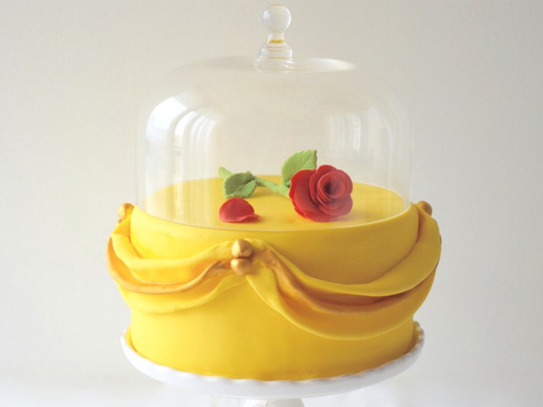 Gâteau la Belle et la Bête