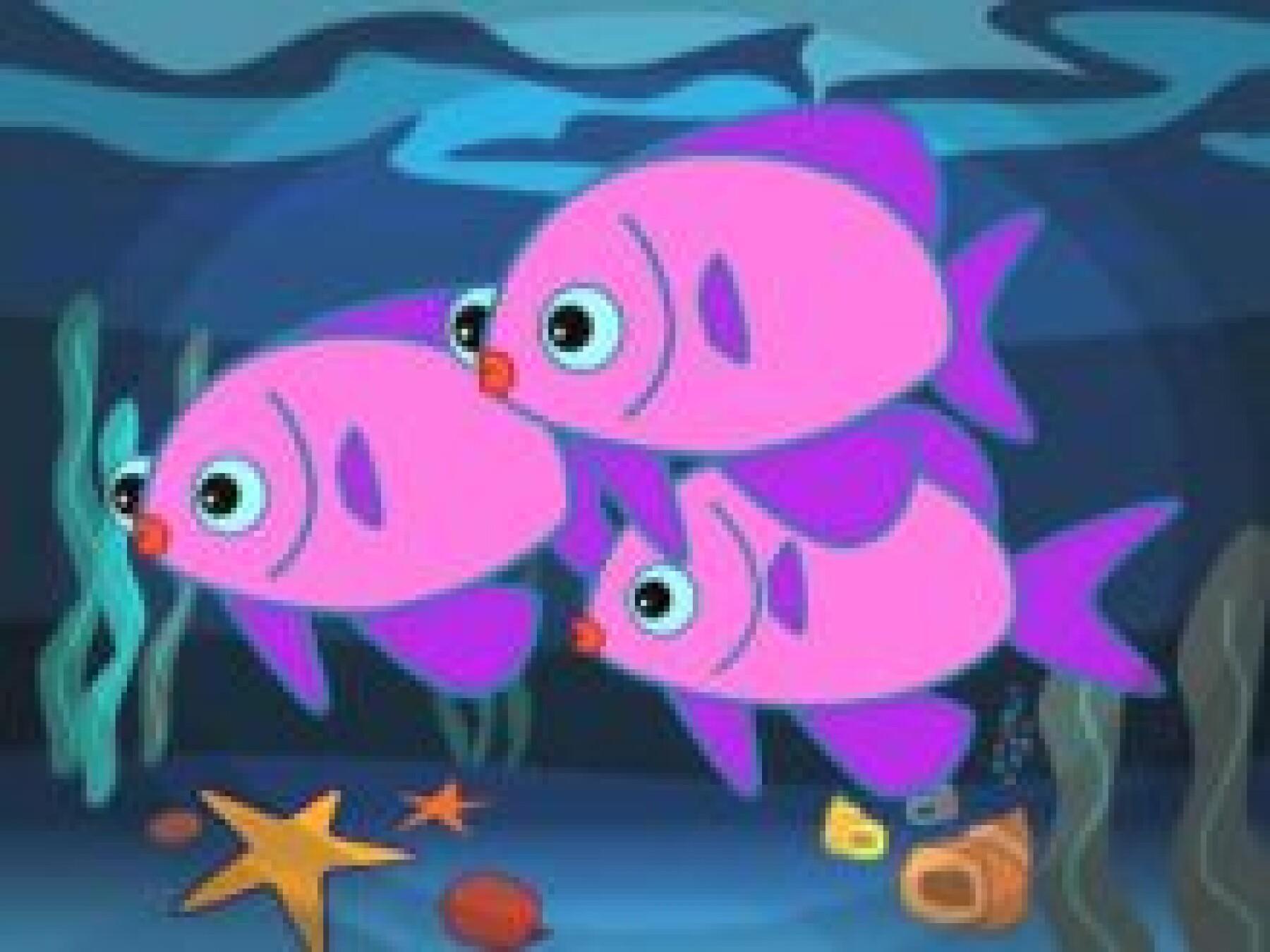 comptine les petits poissons