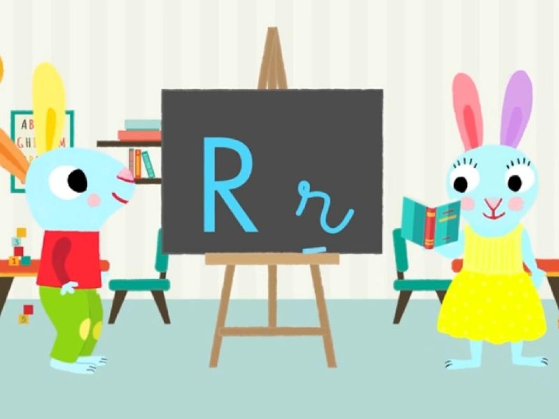 Apprendre à tracer les lettres