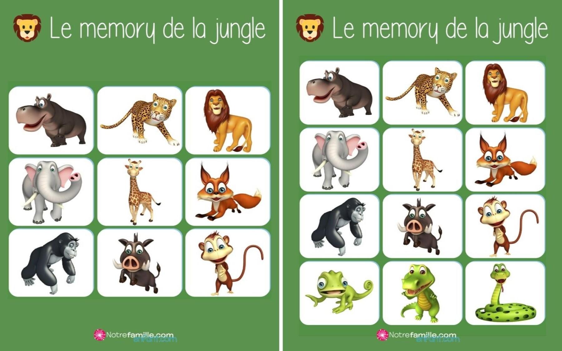 Memory de la jungle