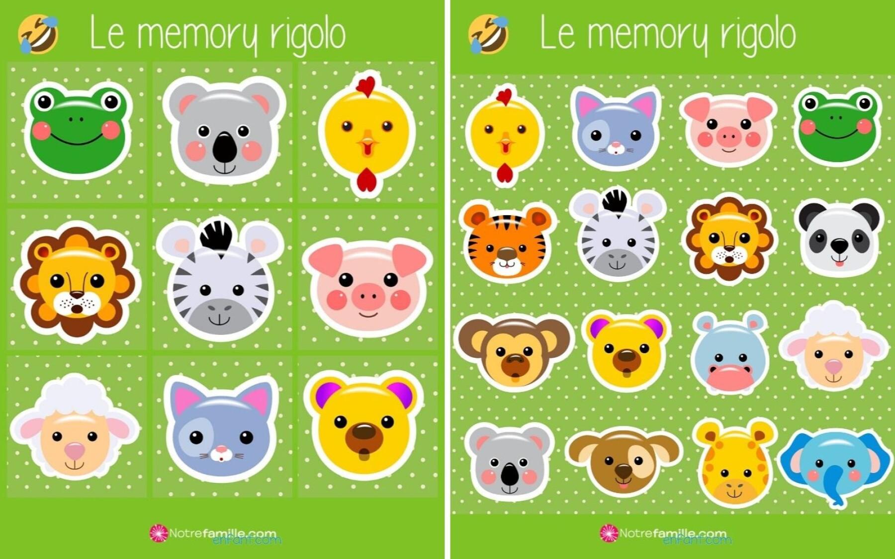 Memory rigolo