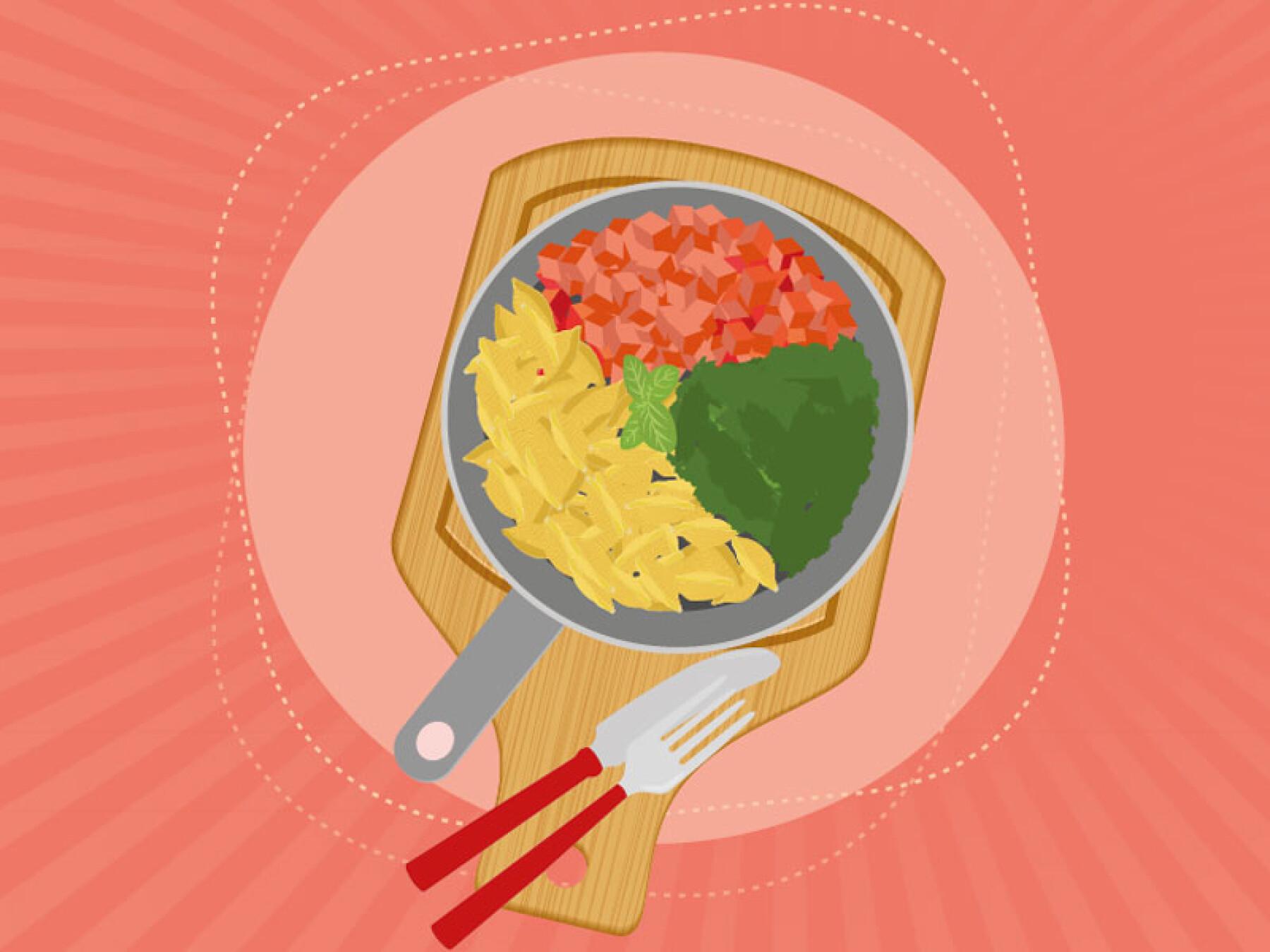 One pot pasta saumon épinards