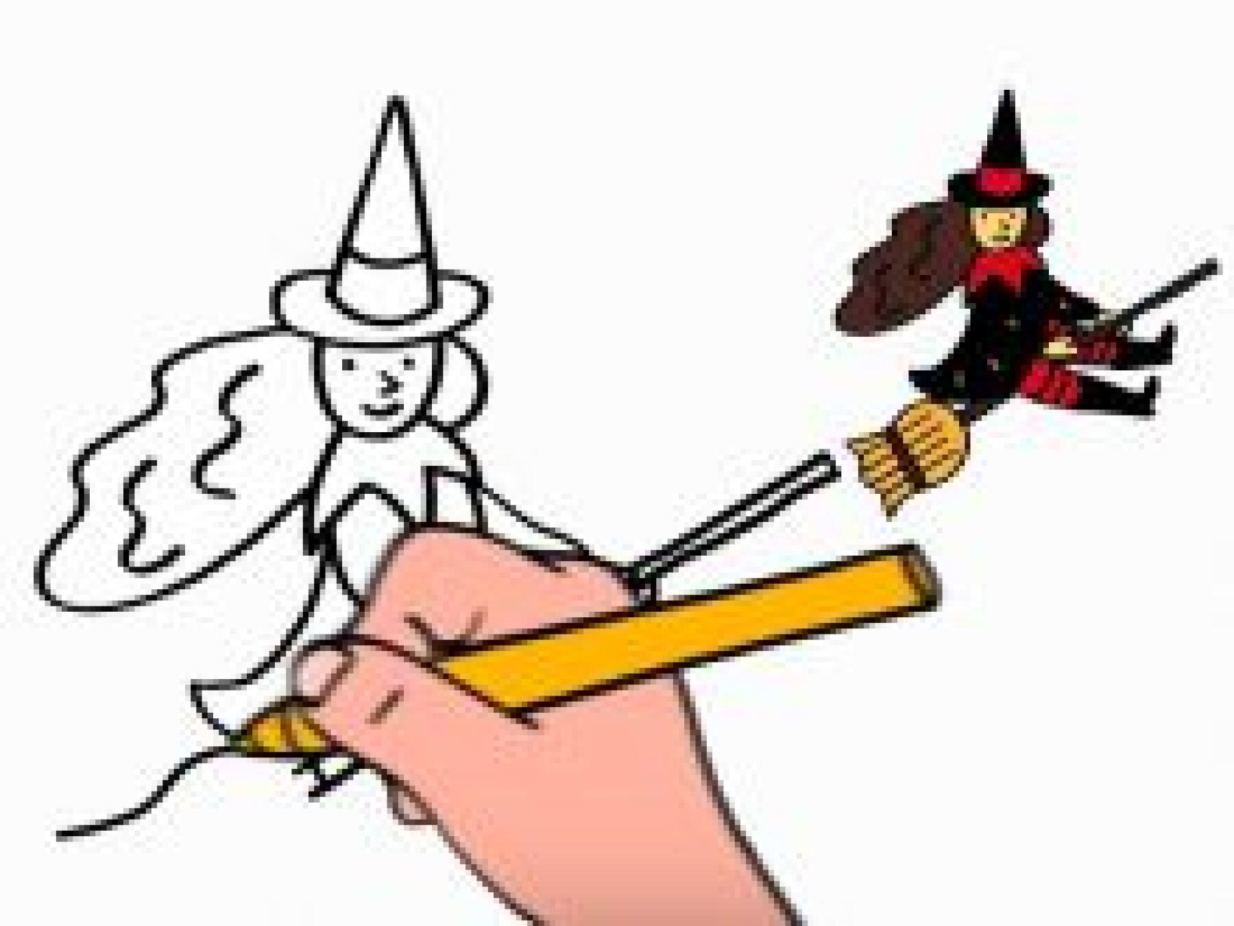 Dessiner une sorcière
