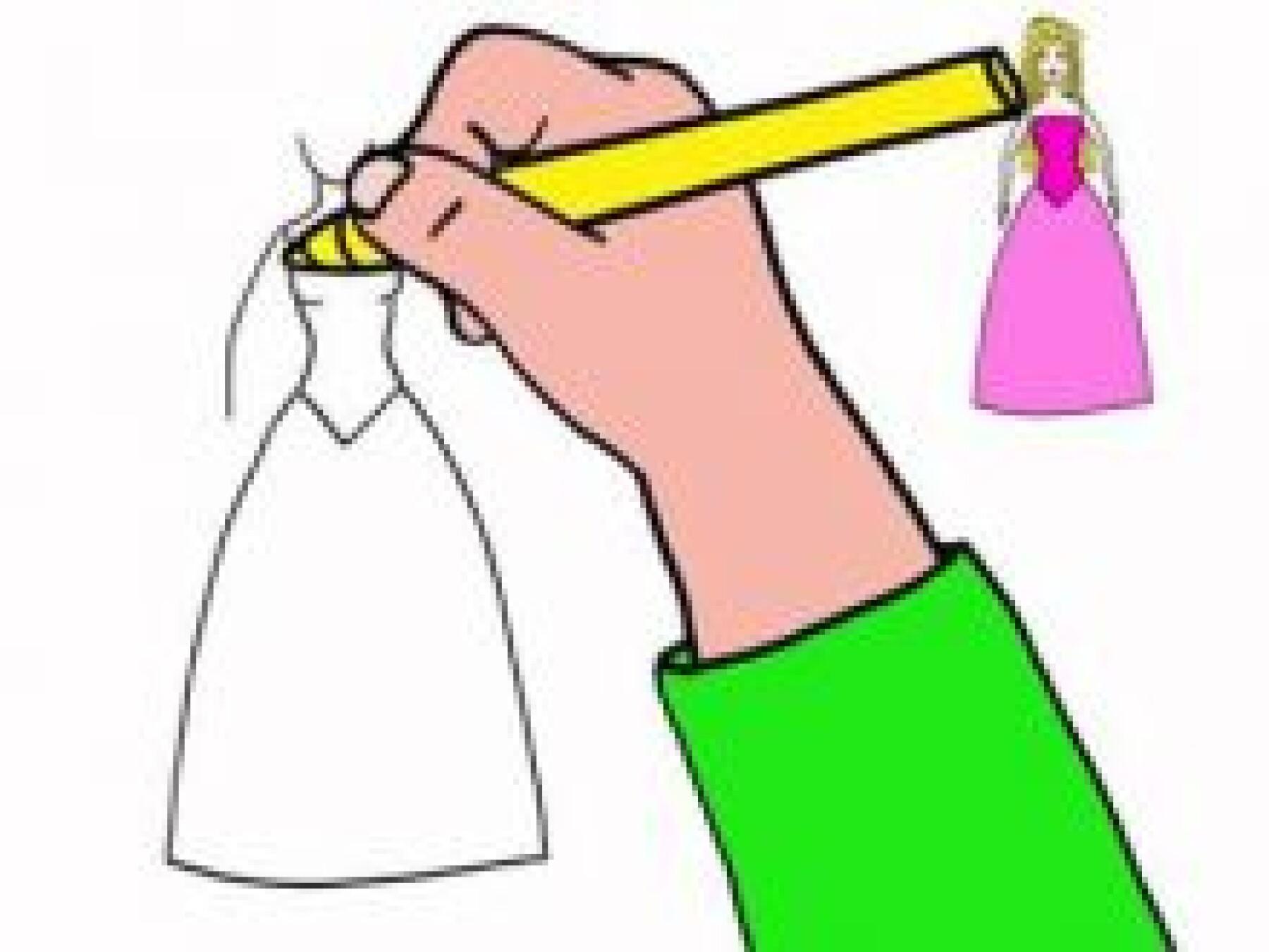Dessiner une poupé Barbie