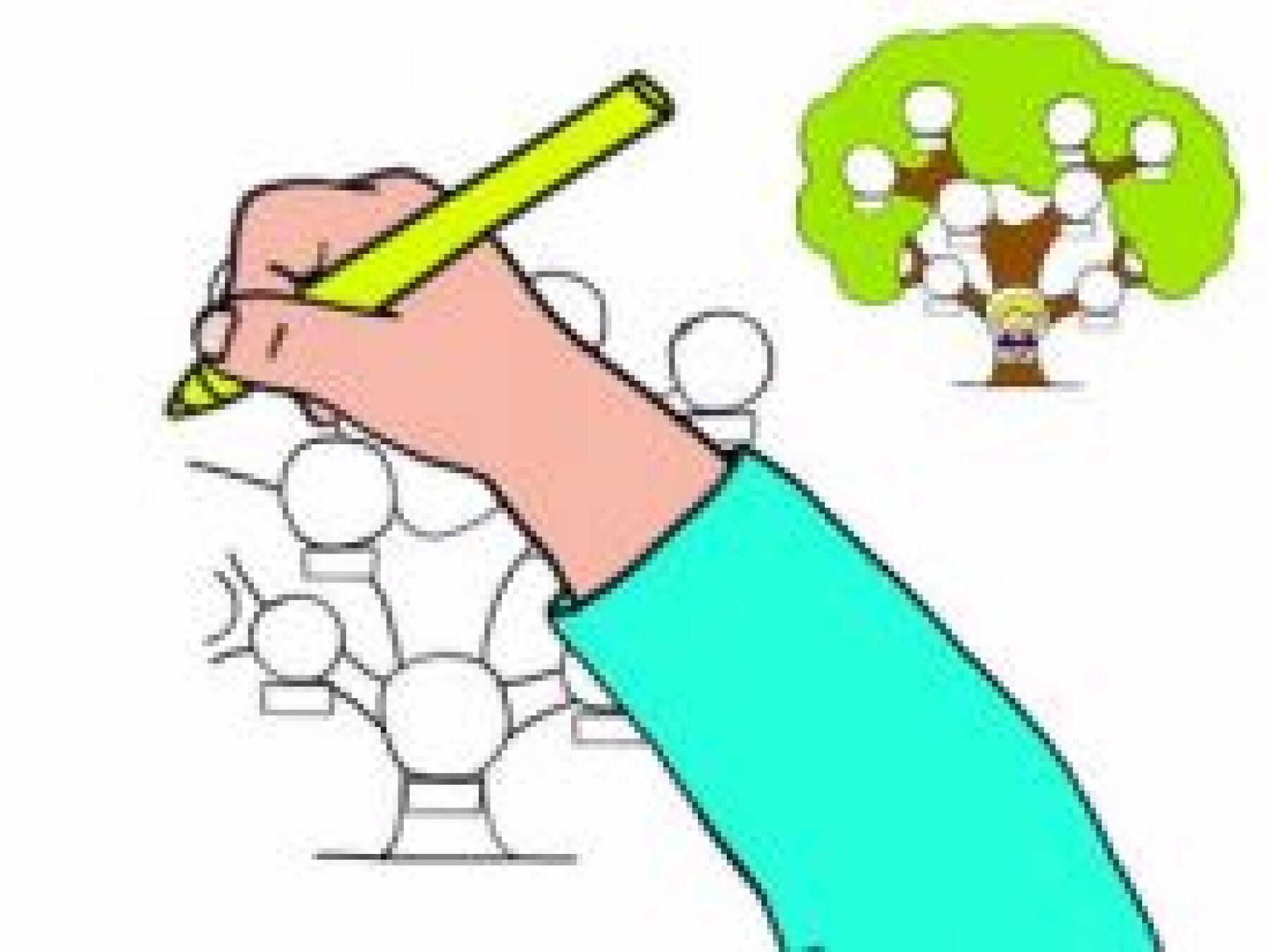 Dessiner un arbre généalogiquee