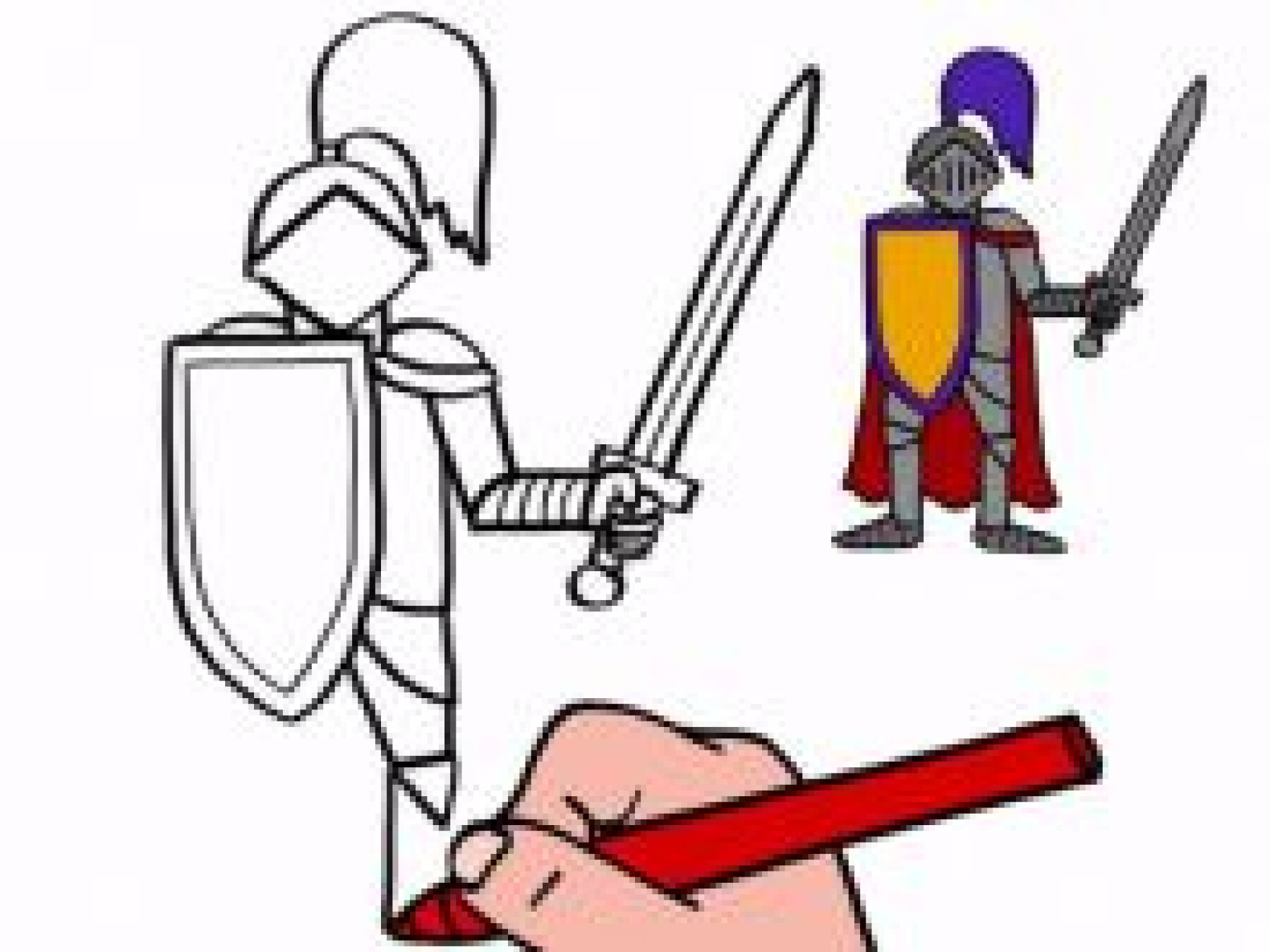 Dessiner un chevalier