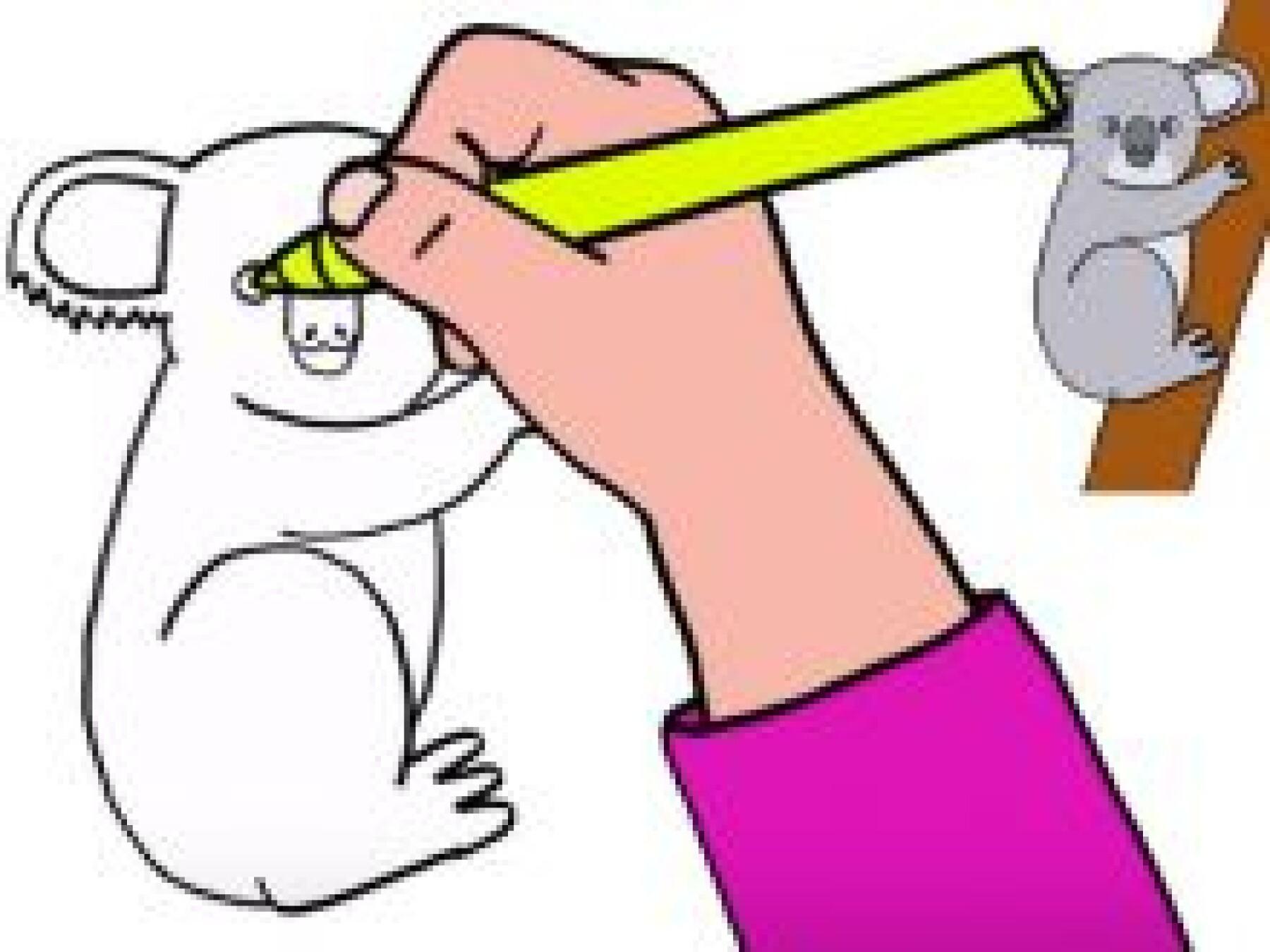 Dessiner un koala