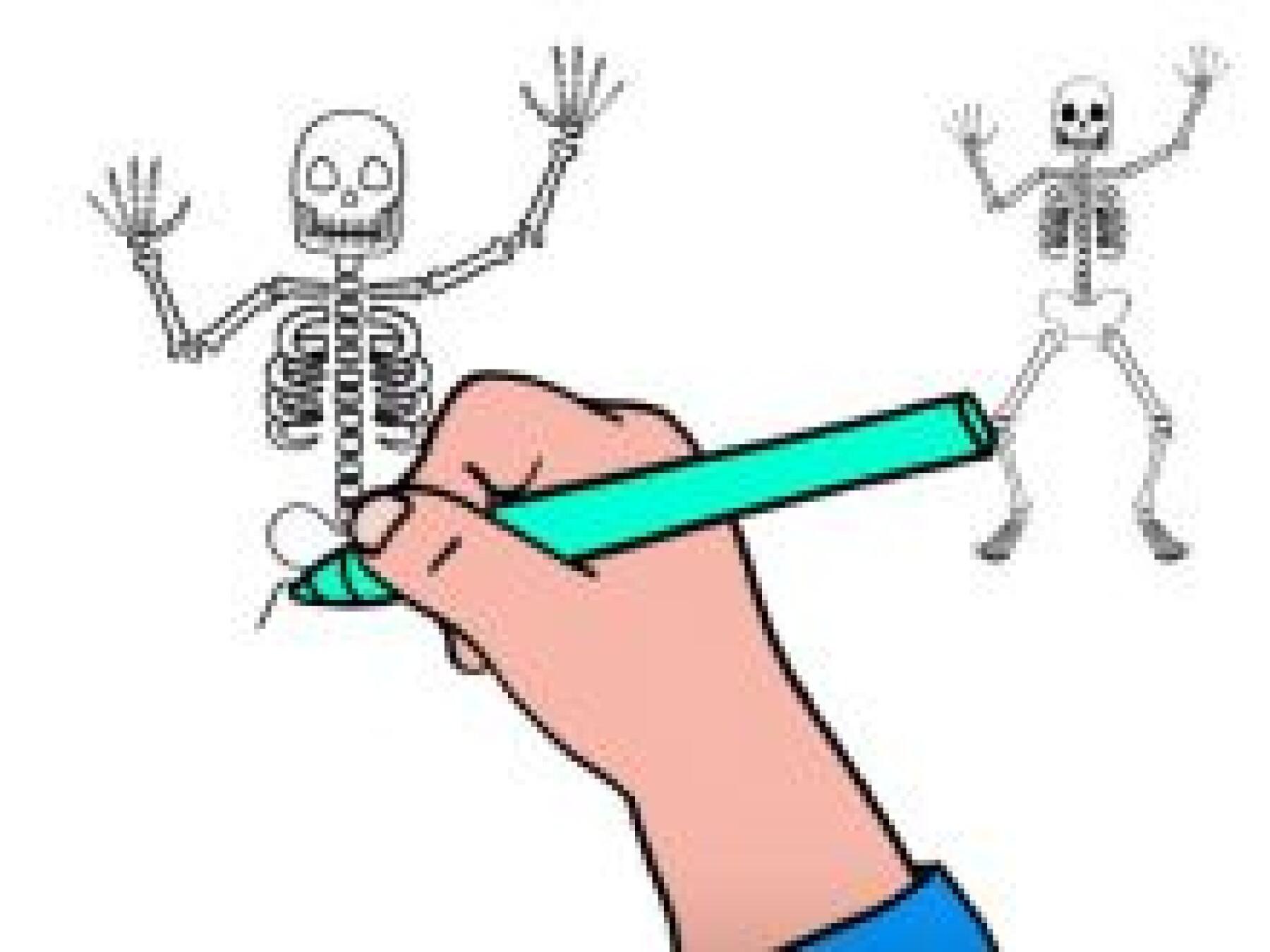 Dessiner un squelette