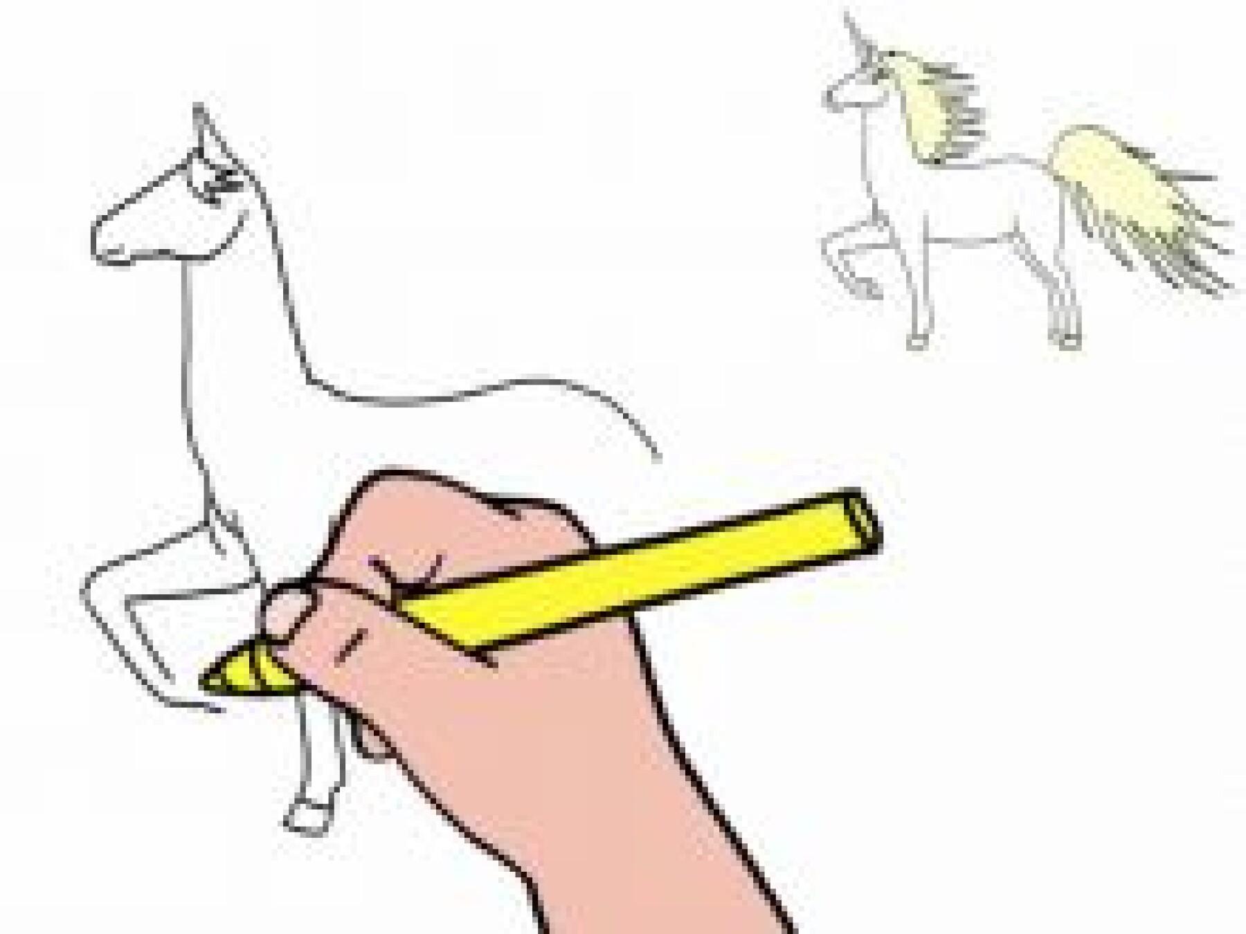 Dessiner une licorne