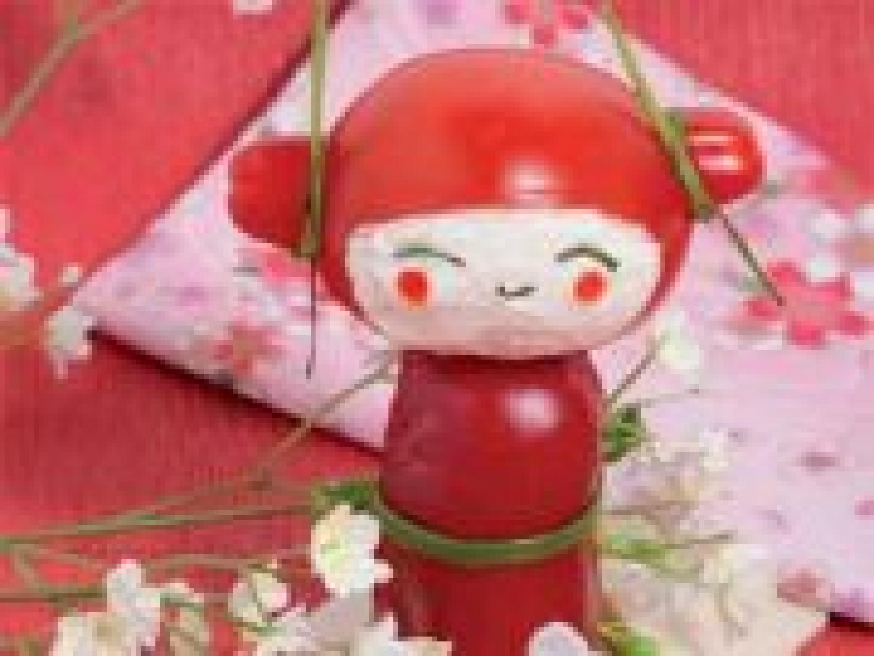 La tomate-kokeshi