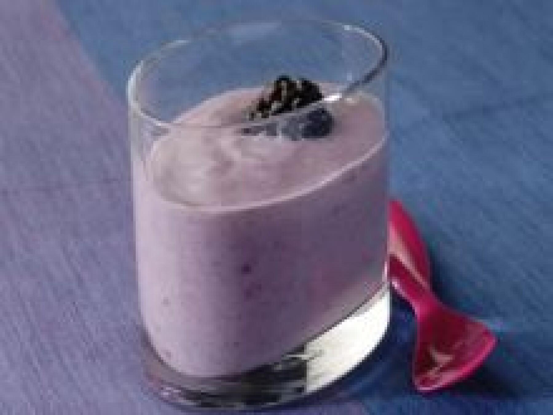Shake yaourt aux mûres