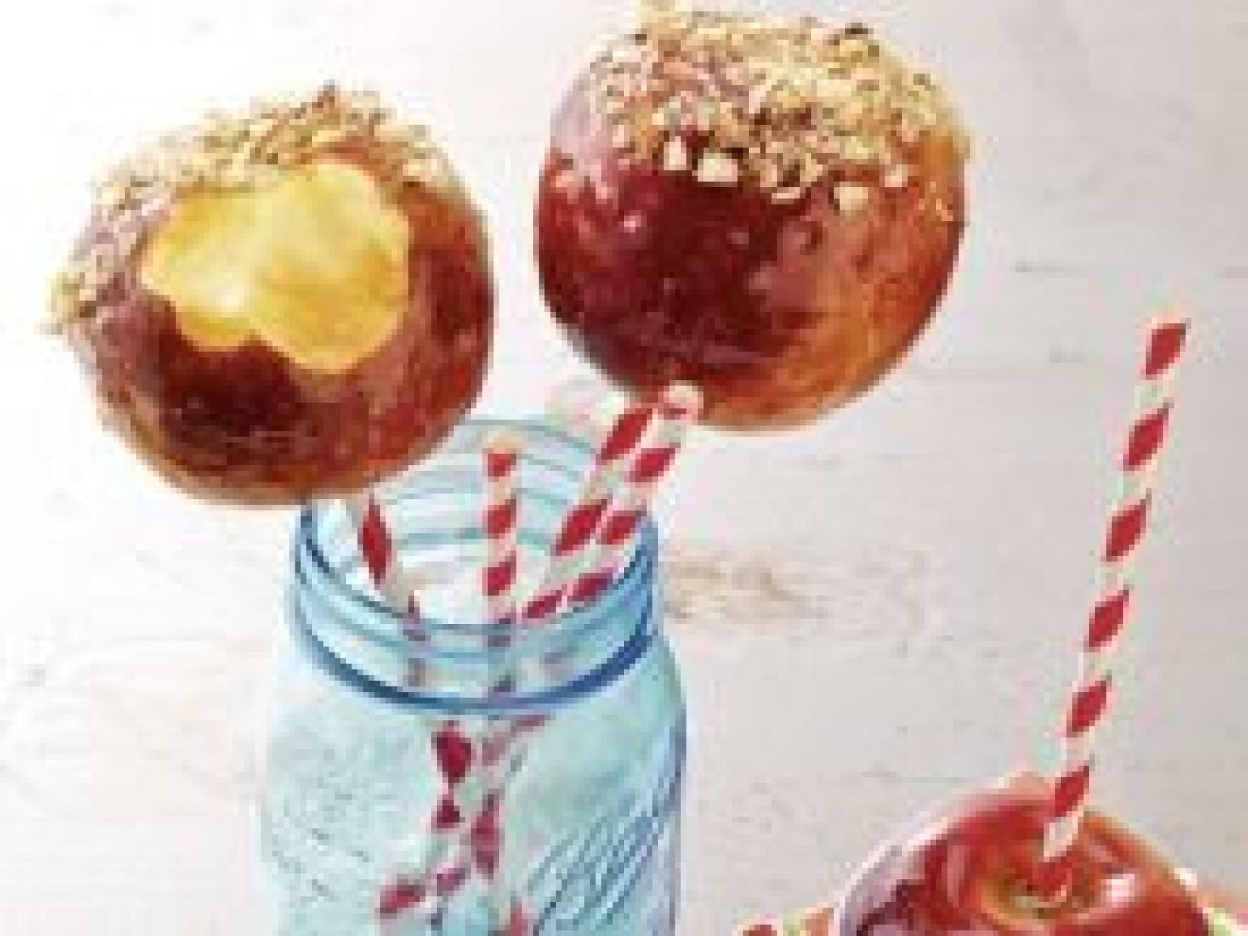 Pommes d'amour aux noisettes
