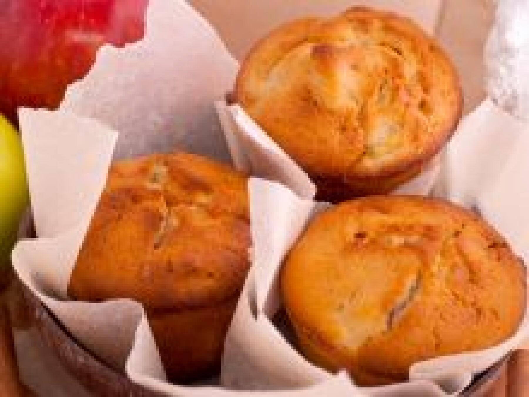 Muffins pommes-châtaignes